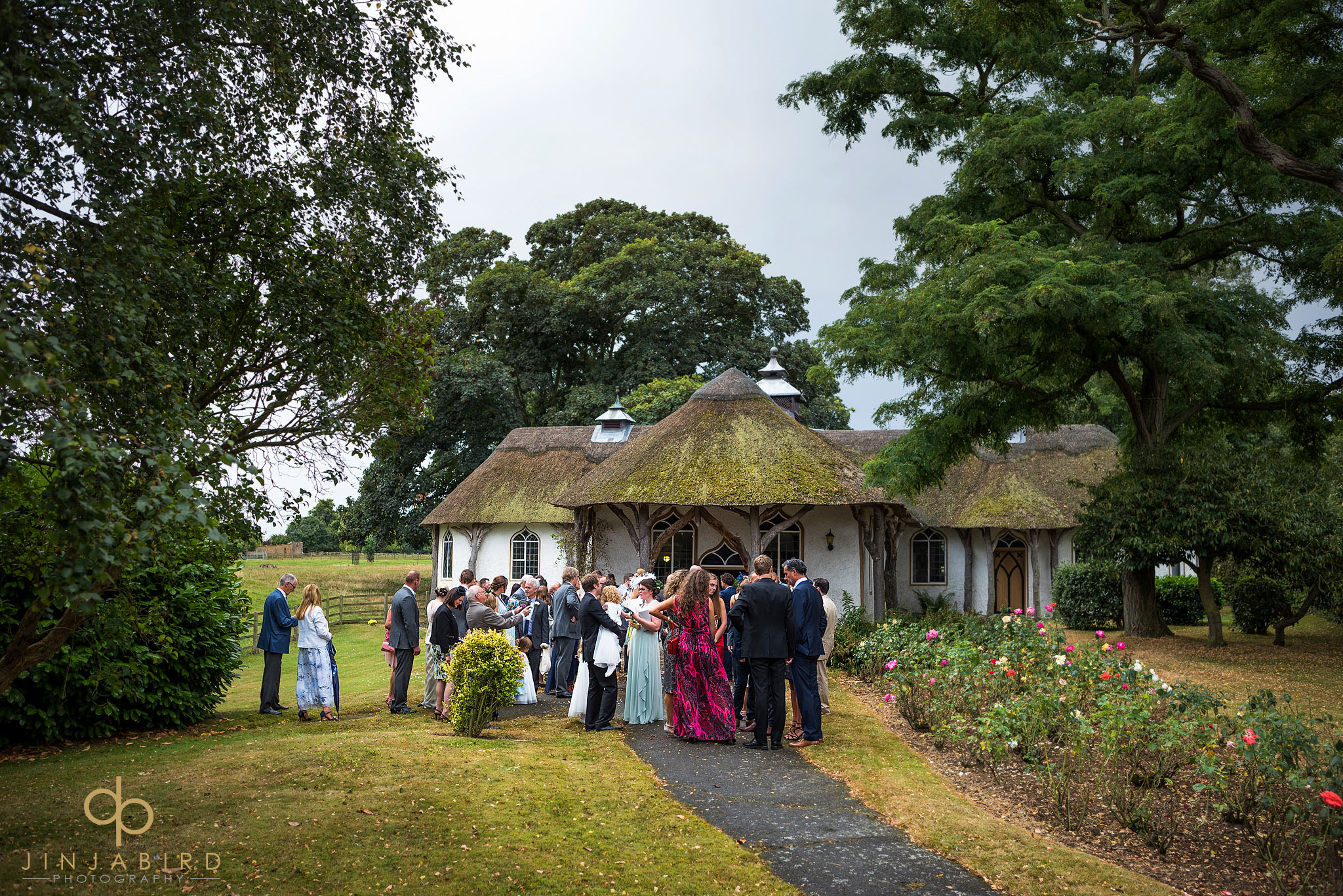 weding-guests-outside-church