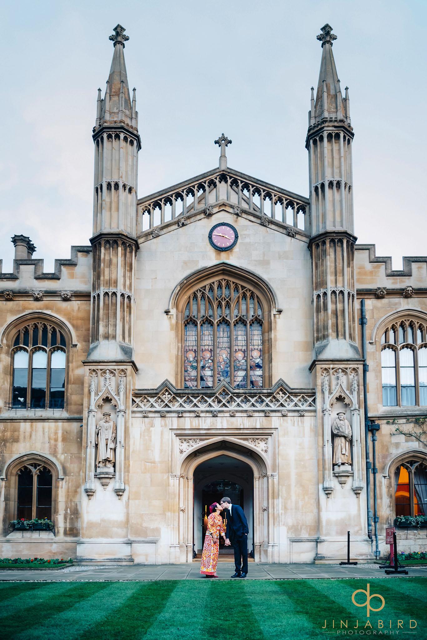 bride-with-groom-corpus-christi-college