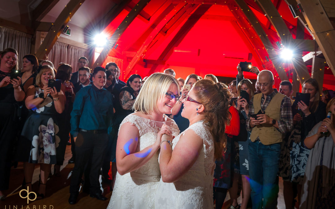 Christmas weddings at Bassmead Manor Barns