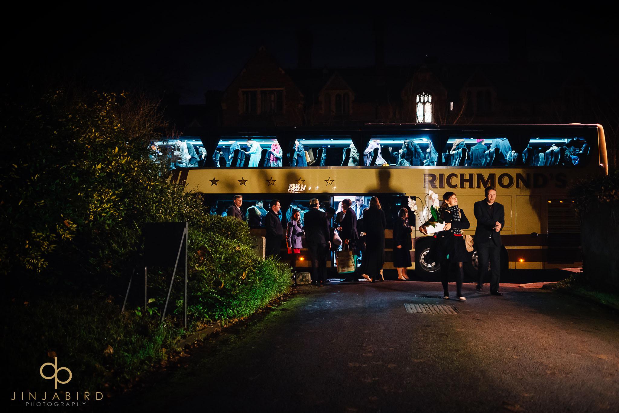 wedding-guest-arriving-leckhampton-house-cambridge