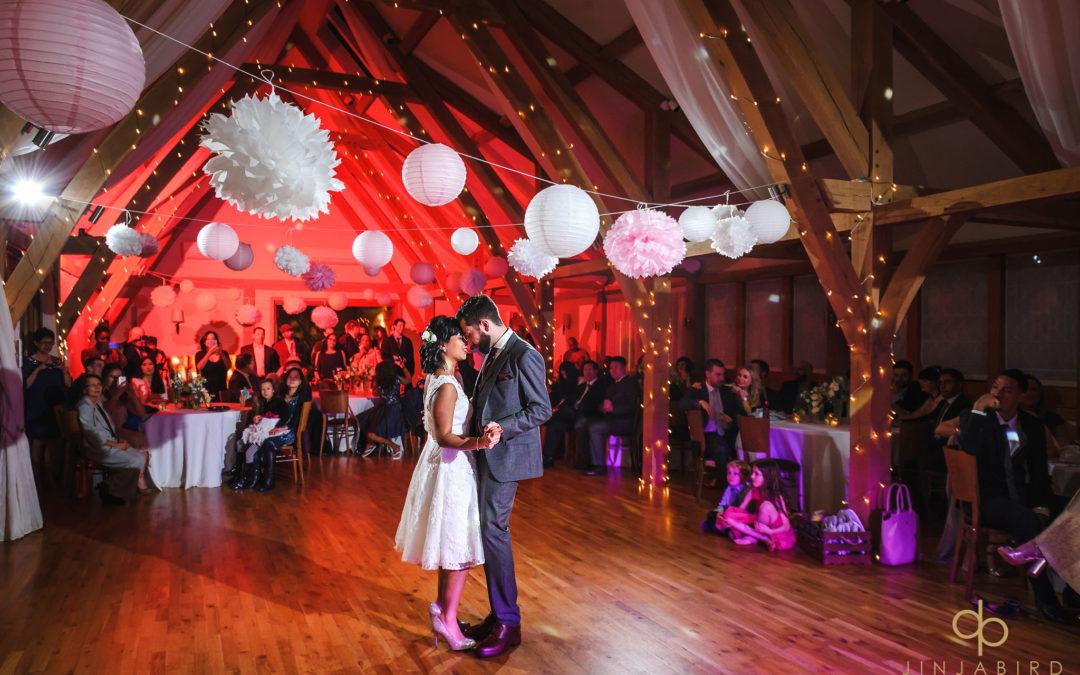 Wedding photographer Rickety Barn Bassmead