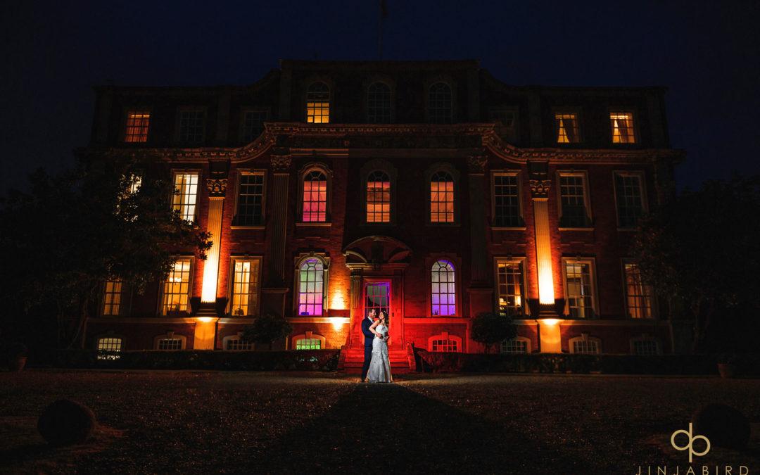 Wedding photographers Chicheley Hall