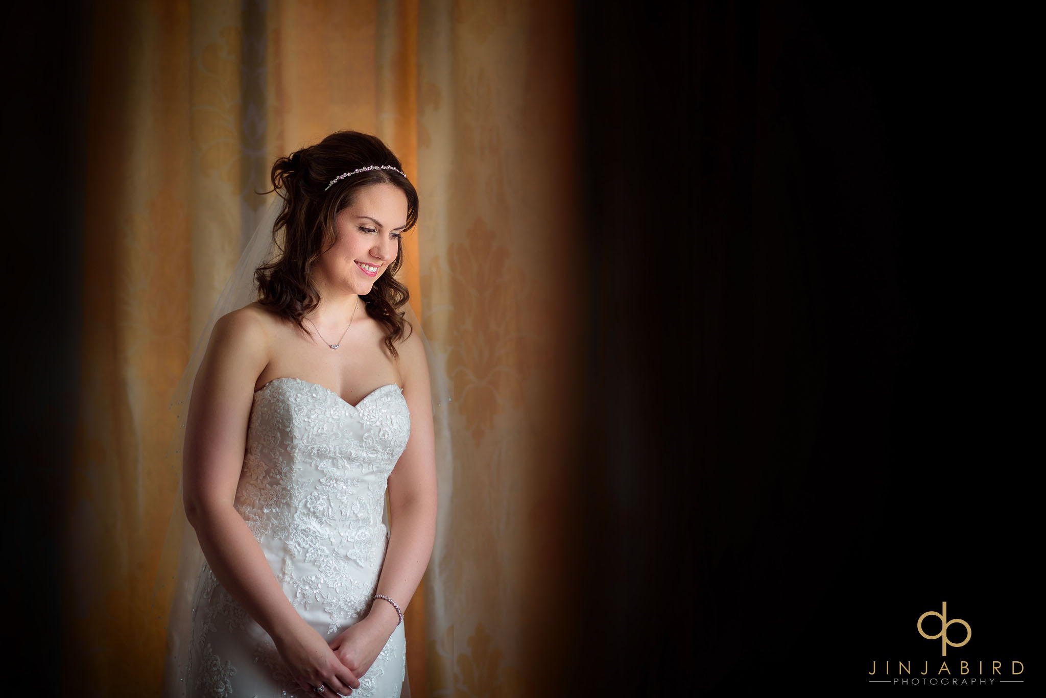 bride at chicheley hall