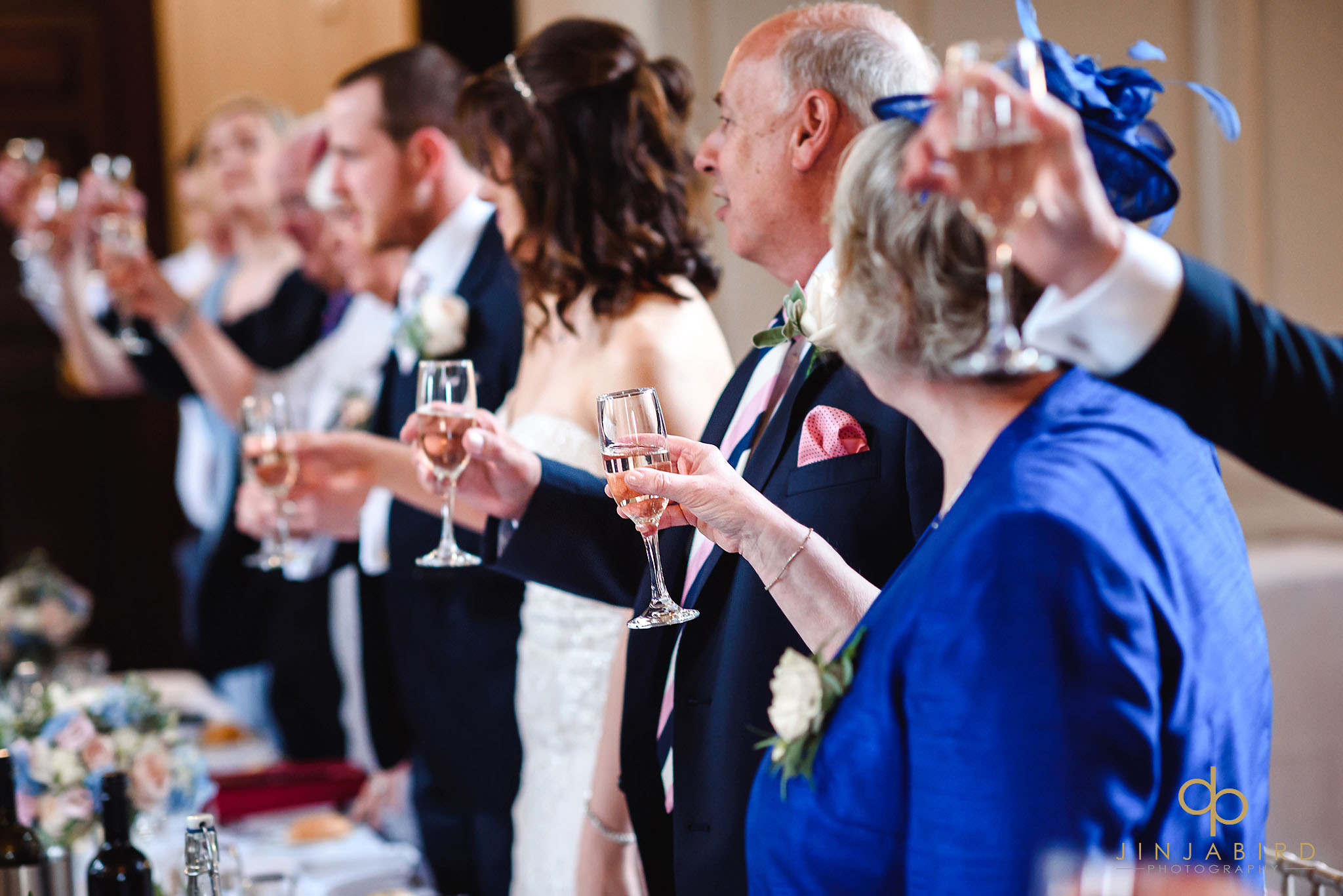 wedding toast chicheley hall