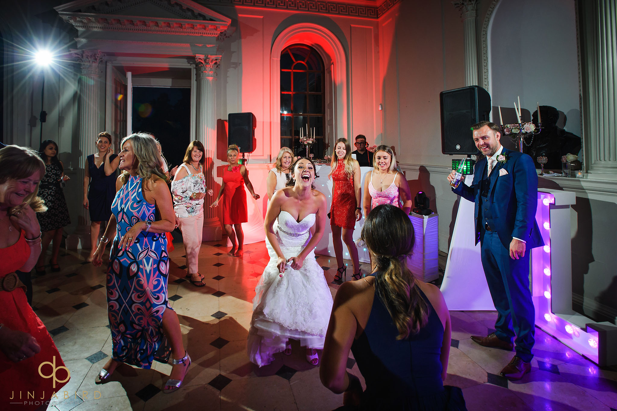 bride dancing chicheley hall