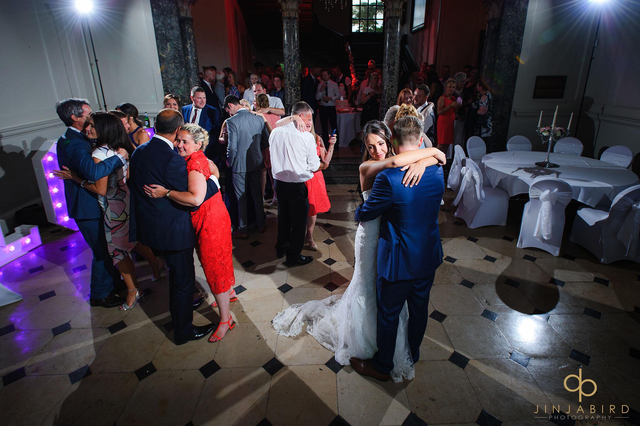 evening wedding reception chicheley hall