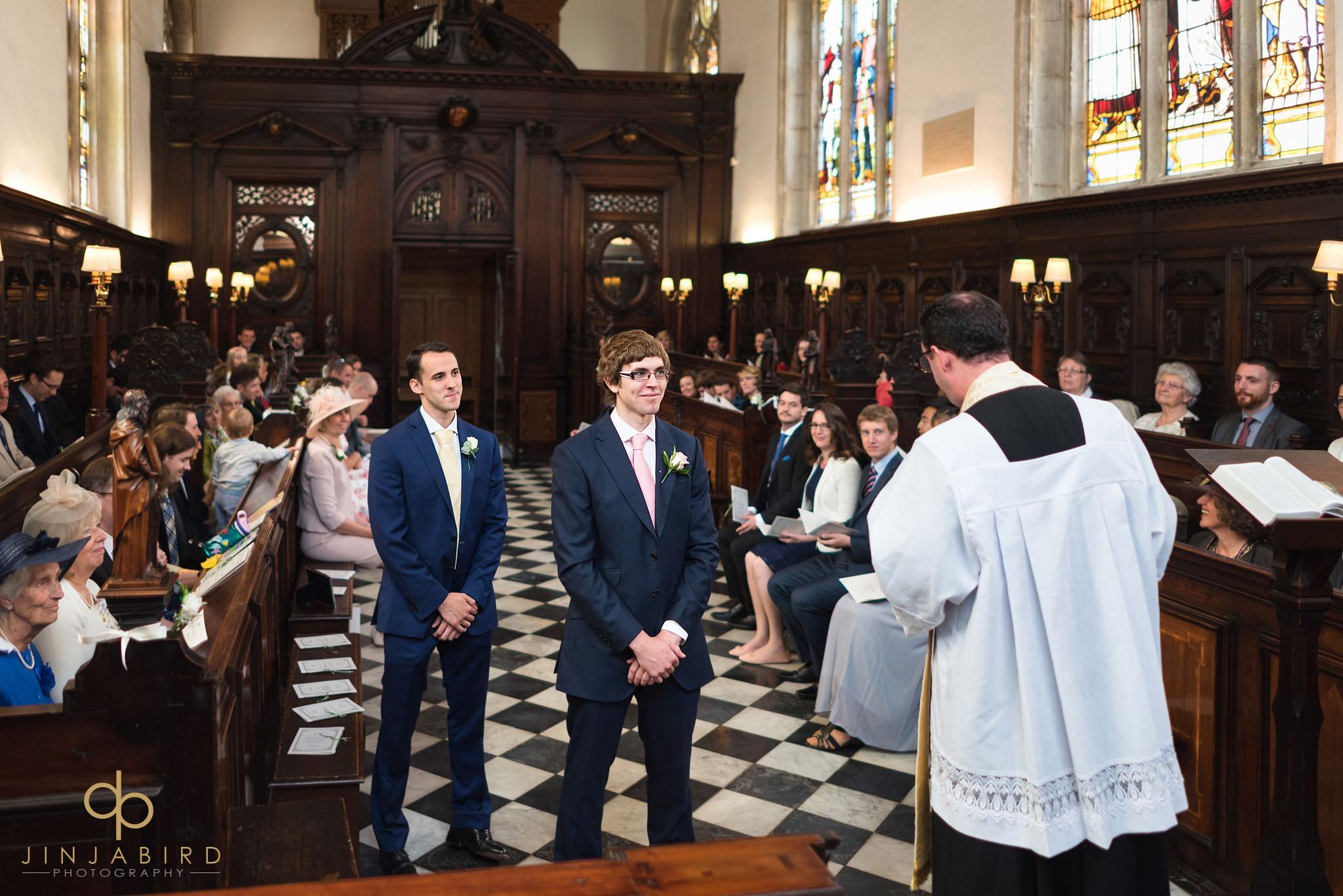 Lincoln college wedding