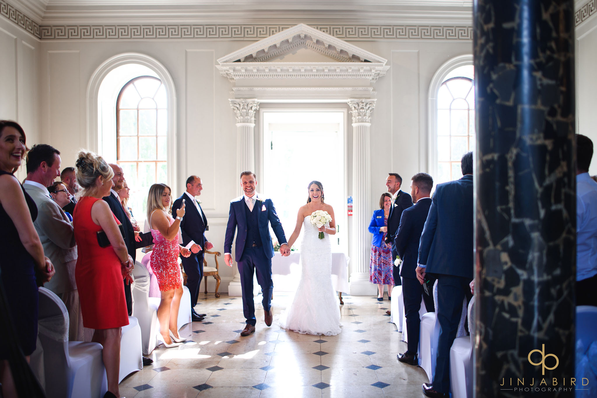 just married chicheley hall