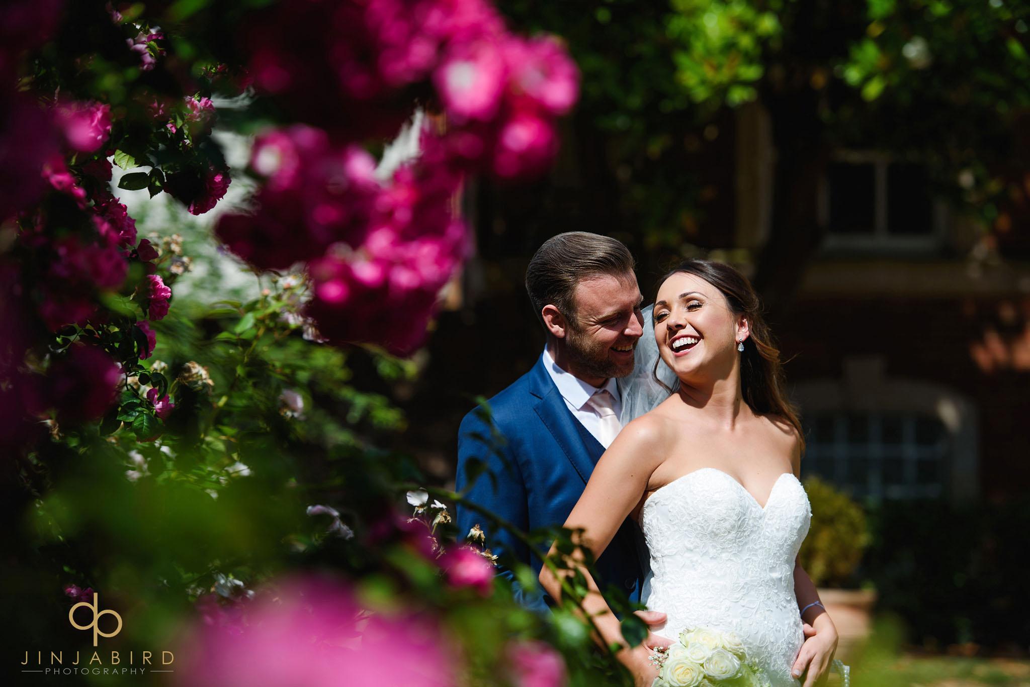 summer wedding chicheley hall