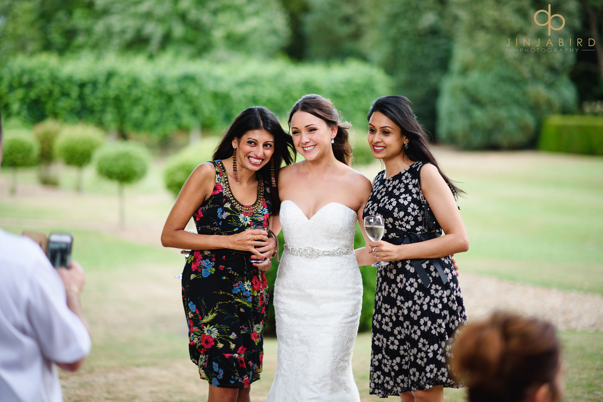 summer wedding chicheley hall