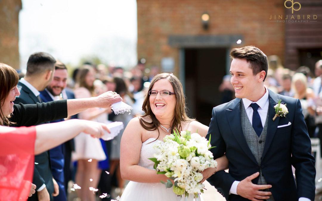 Spring weddings Bassmead Manor Barns