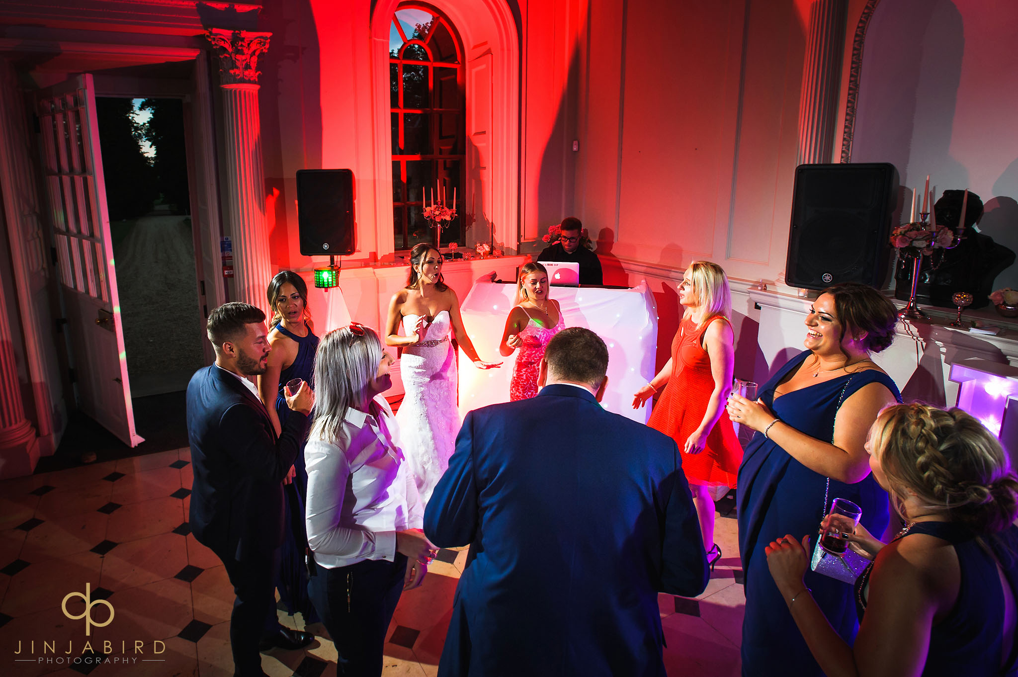wedding dancing chicheley hall