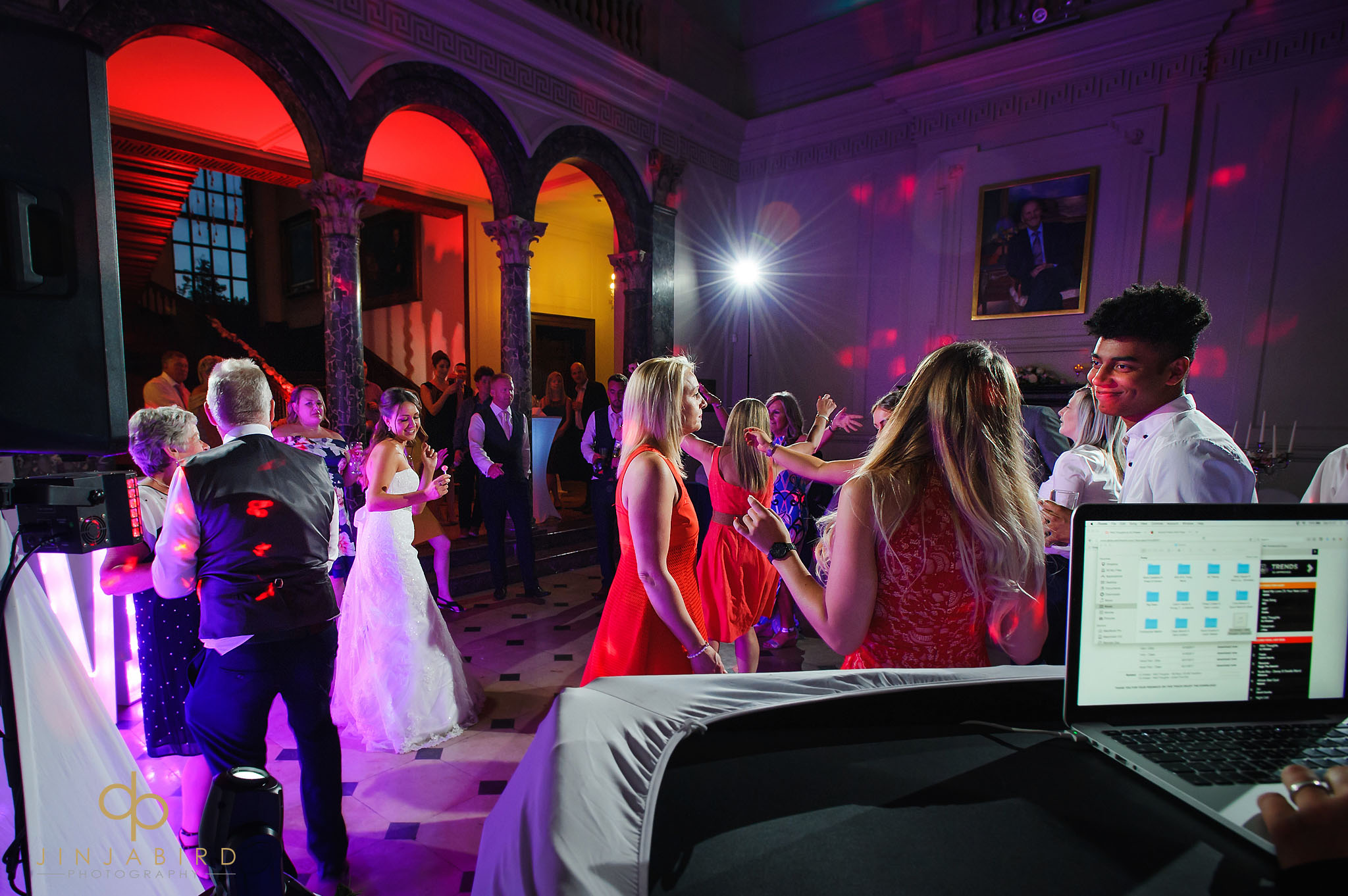 wedding disco chicheley hall