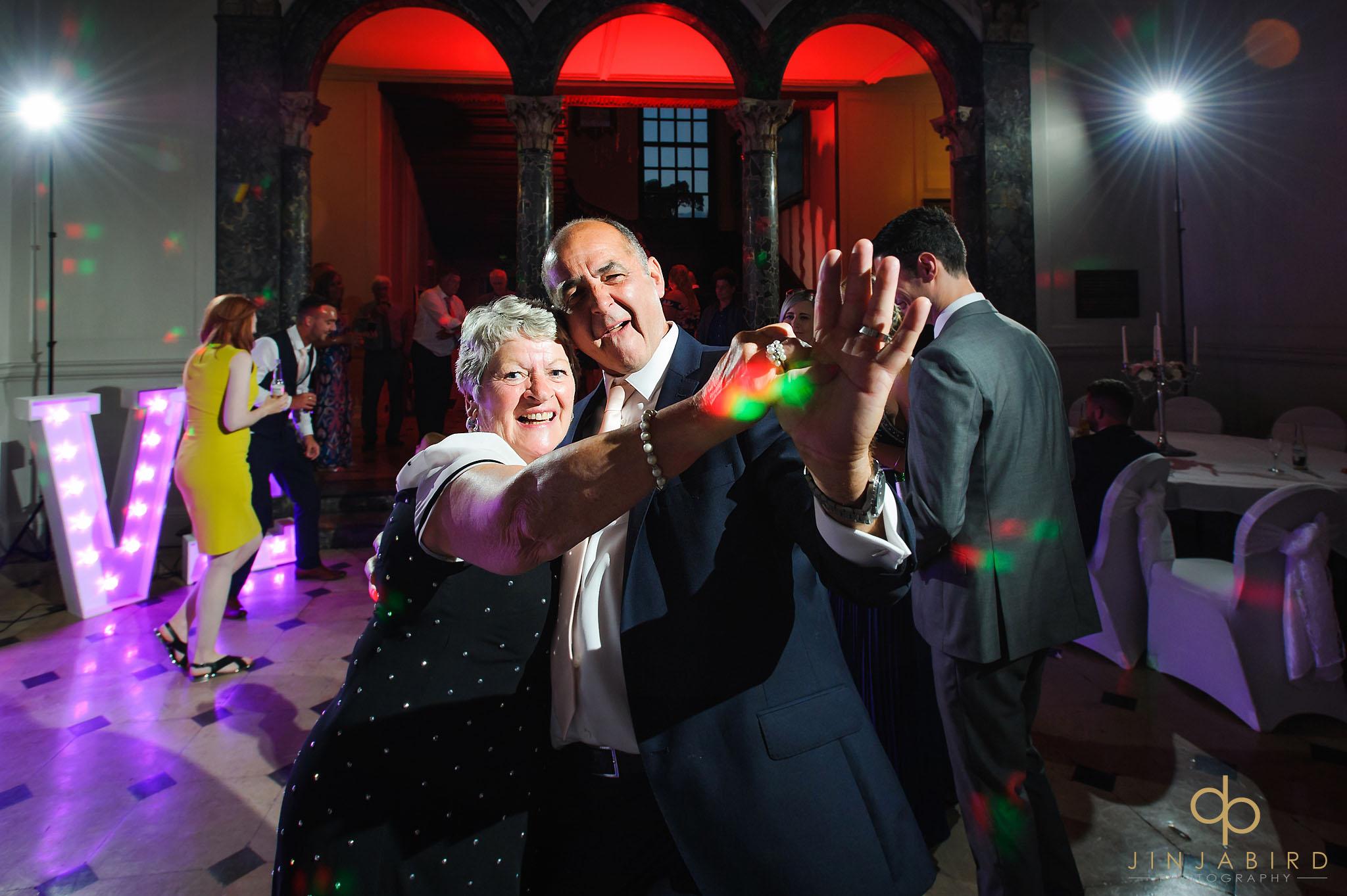 wedding photos dancing chicheley hall