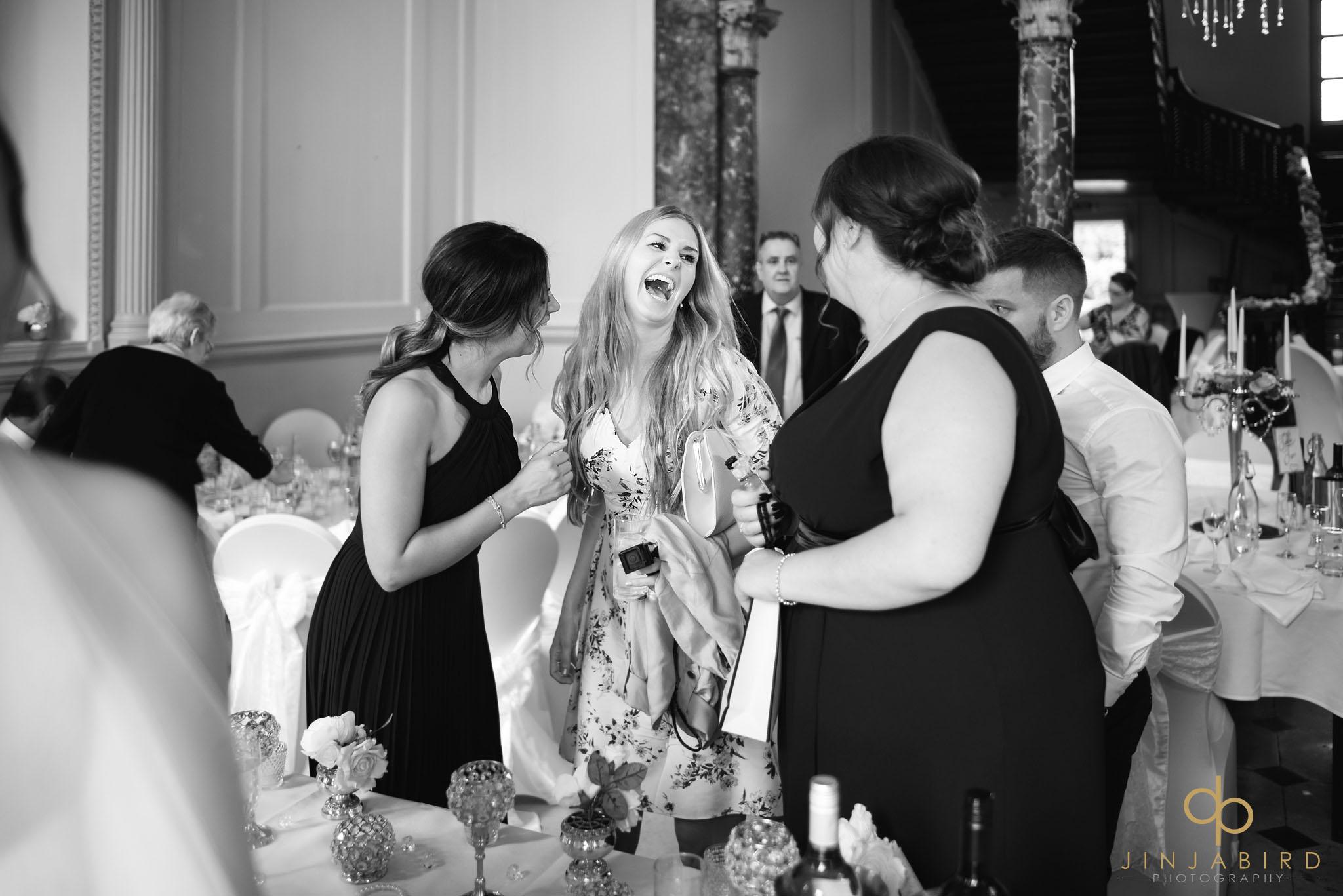 wedding reception chicheley hall