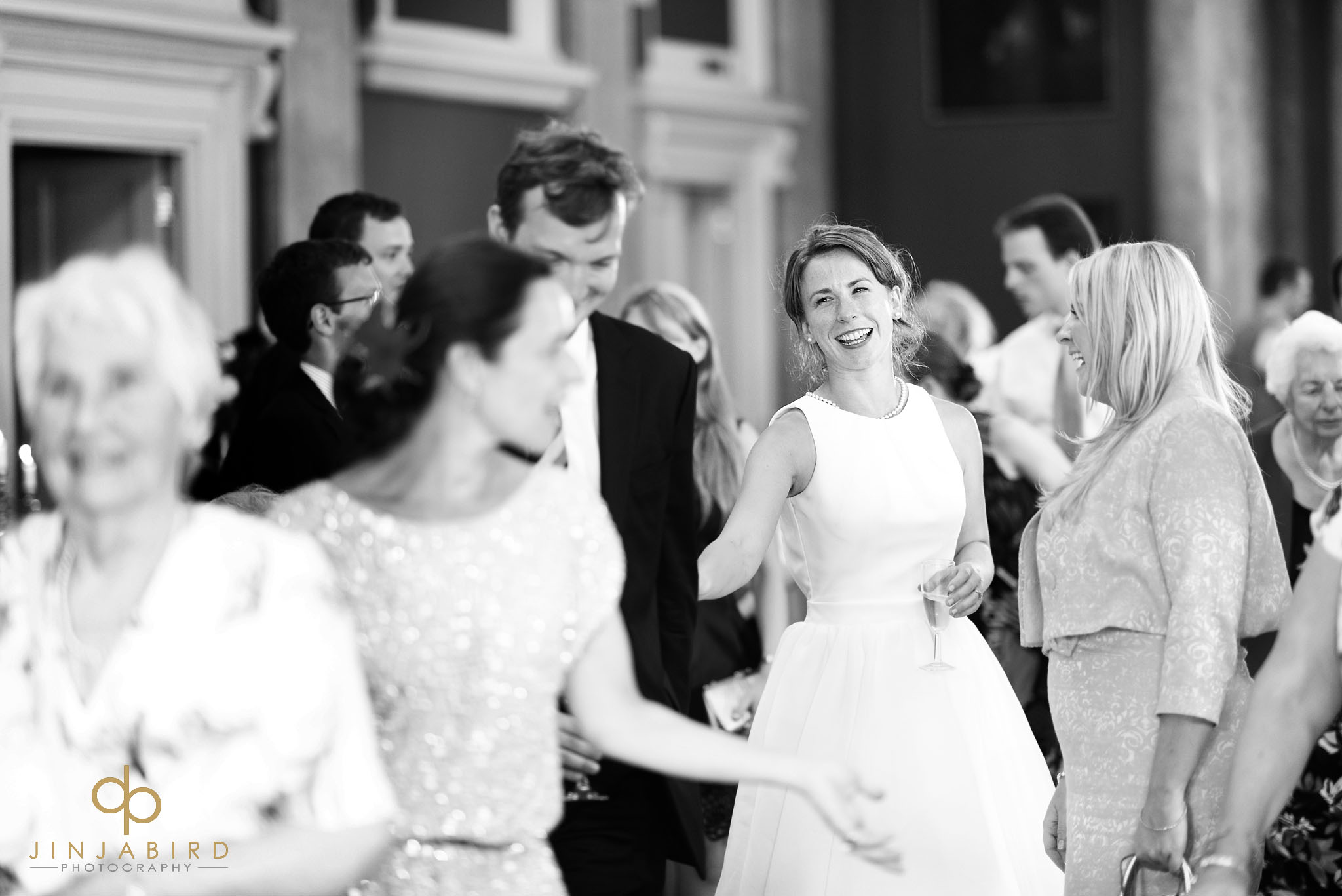 bride in hall downing college