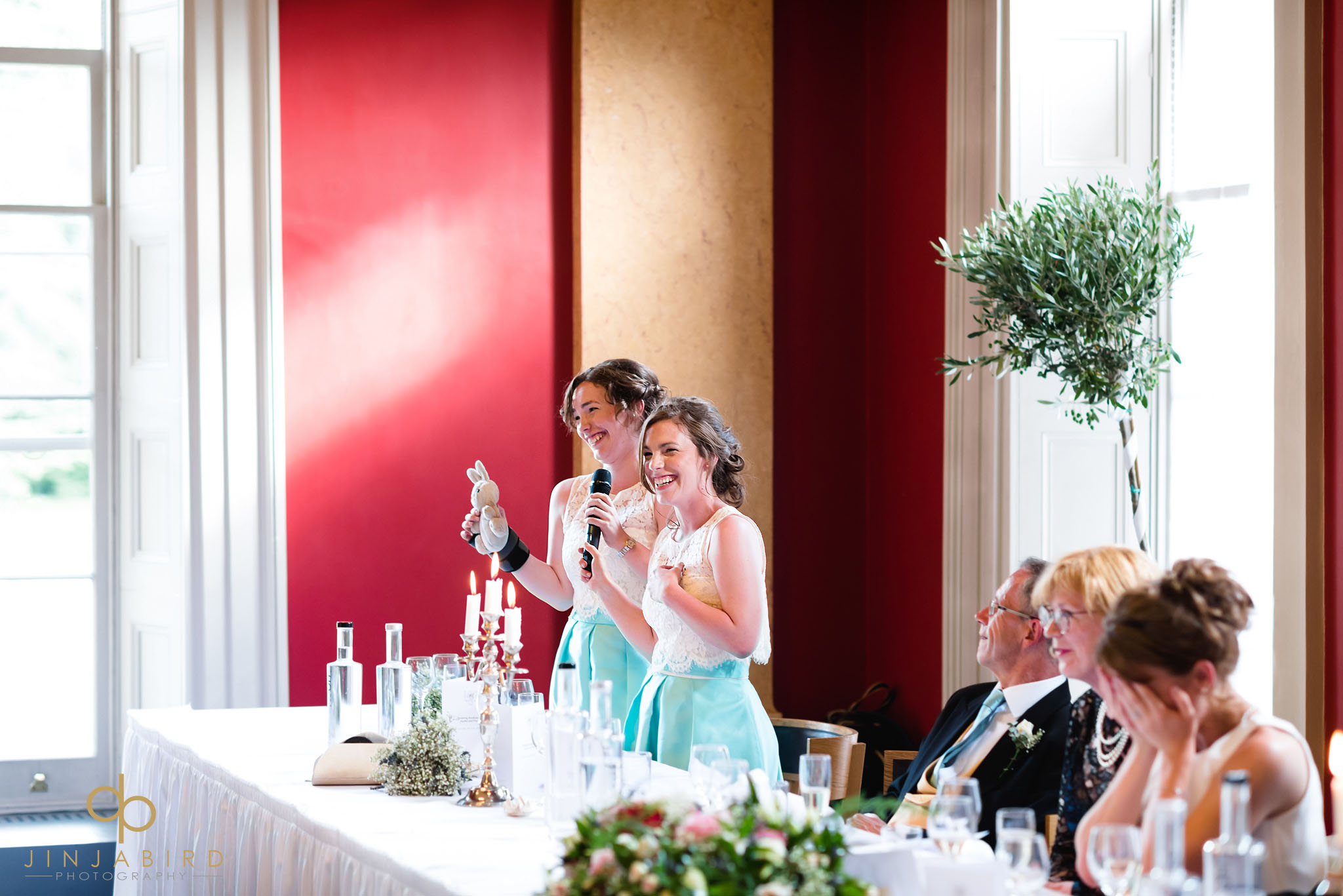 bridesmaid speech downing college
