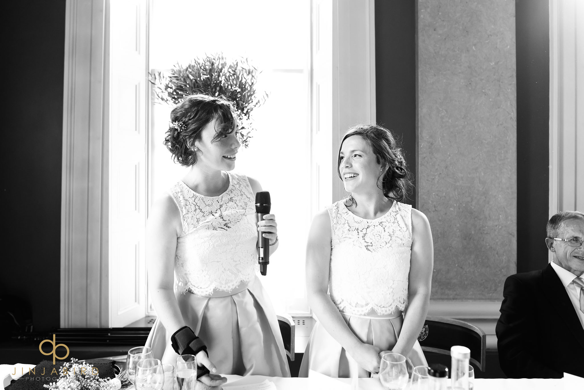 bridesmaids speech downing college