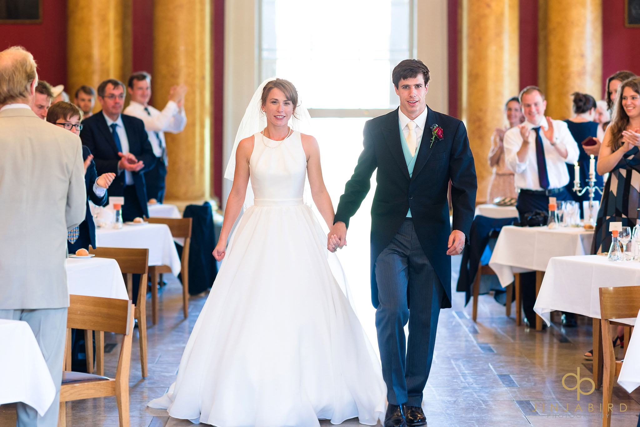 downing college wedding photographs