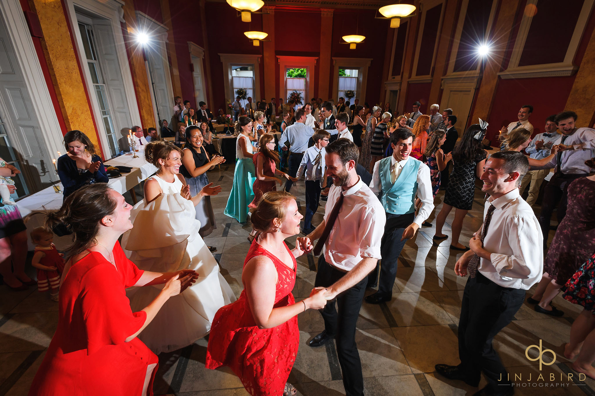 evening wedding reception downing college