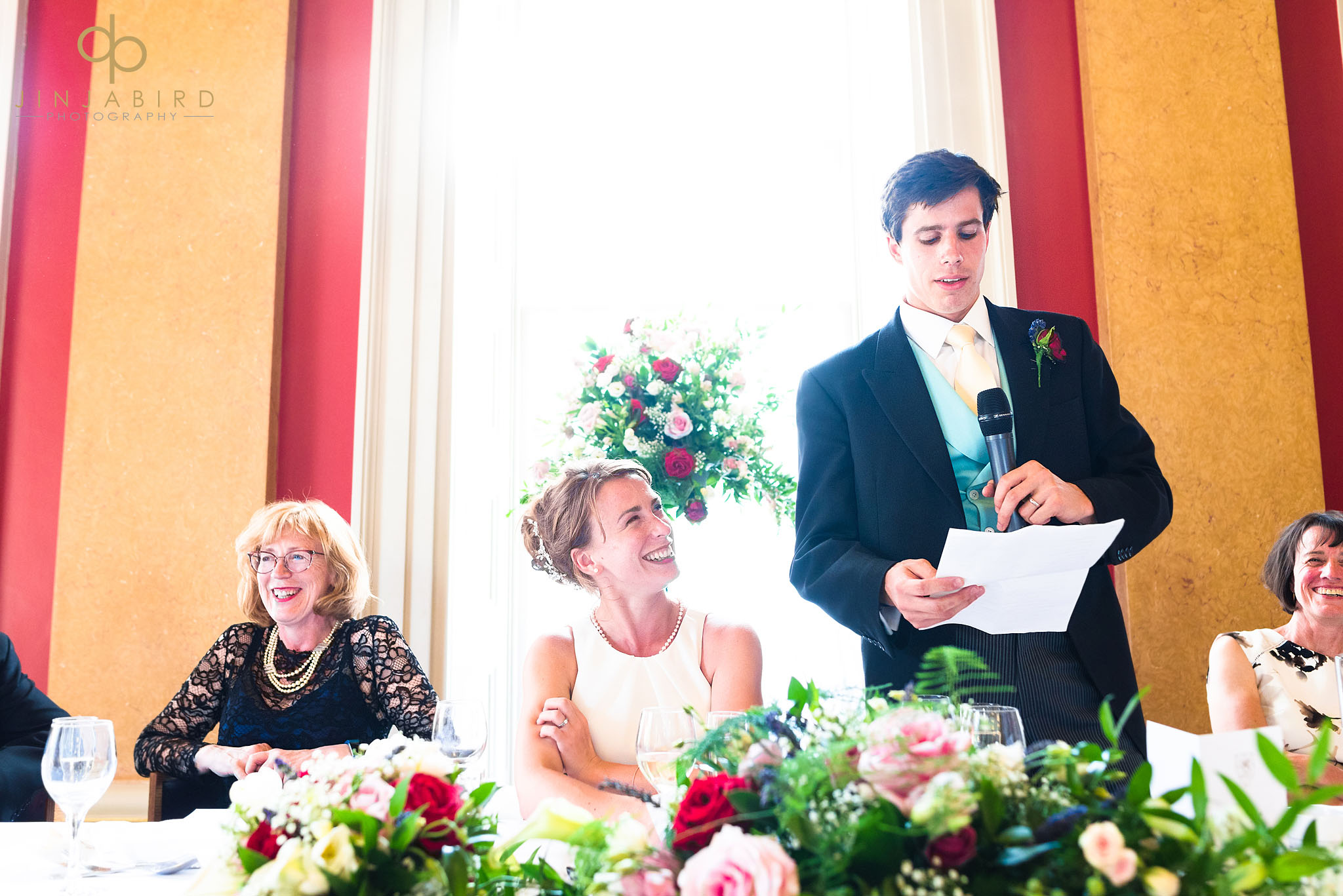 grooms speech downing college