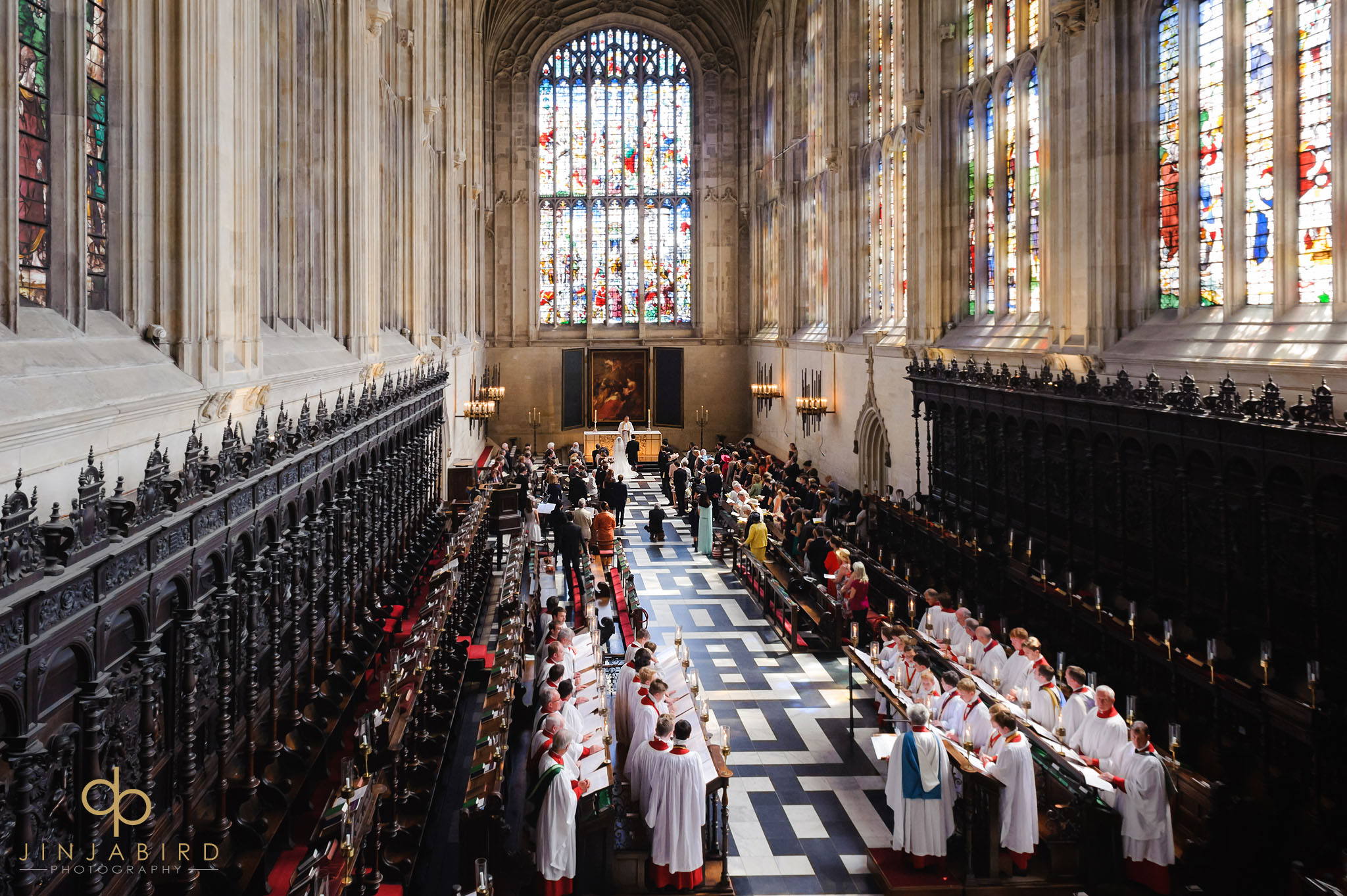 kings college chapel wedding photographer