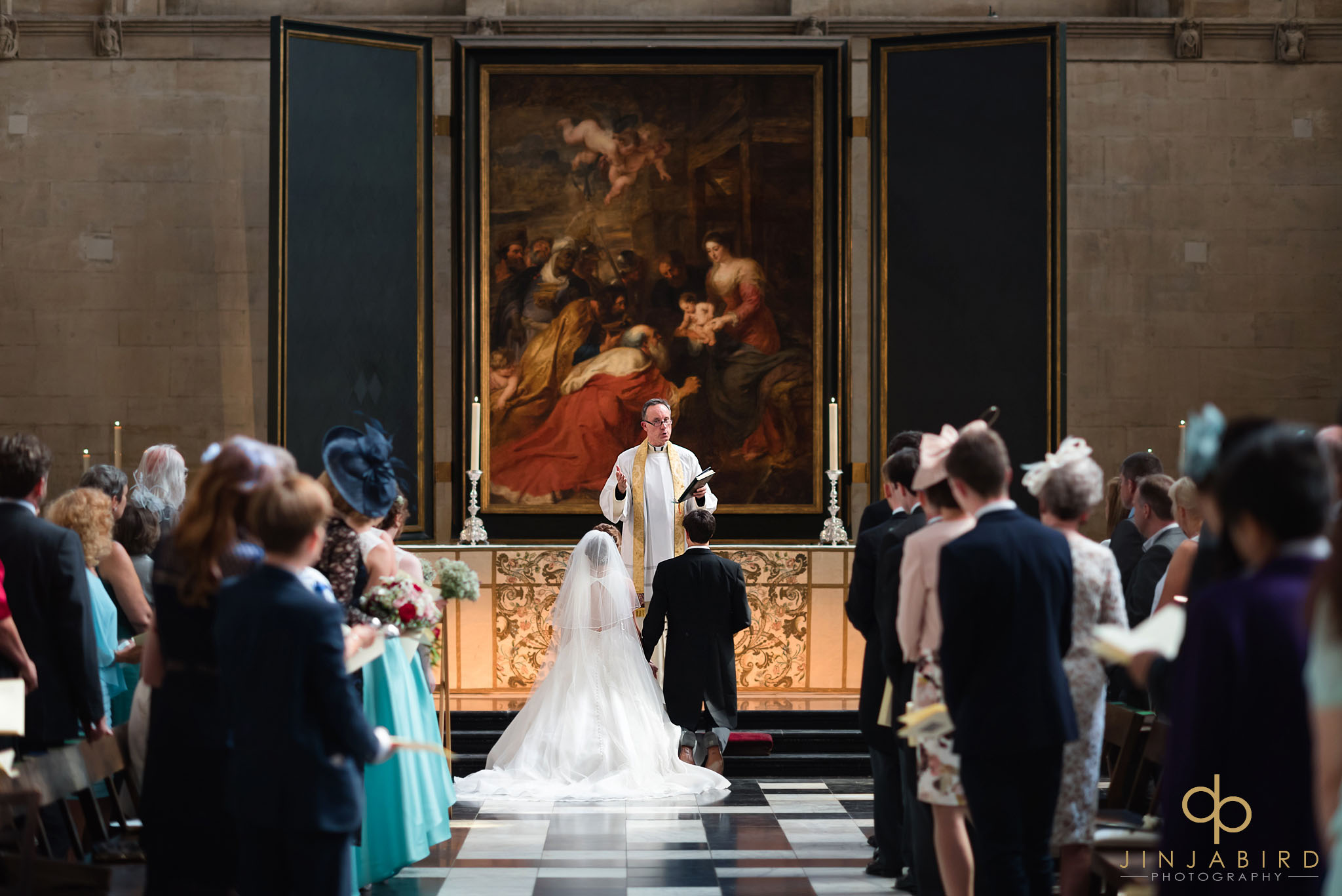 kings college chapel wedding photographers