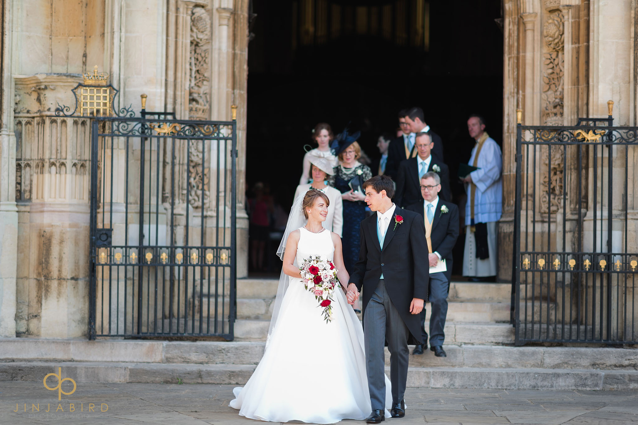 kings college chapel wedding photography