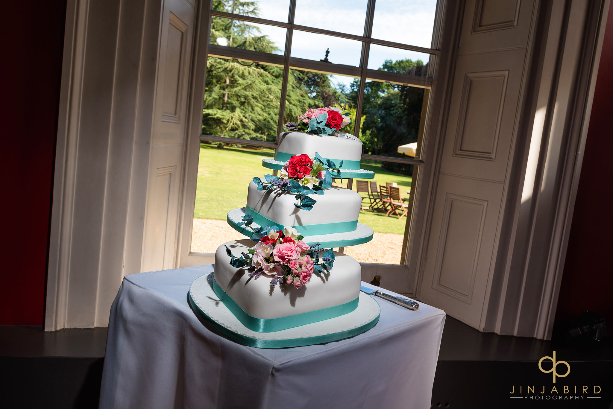 wedding cake downing college