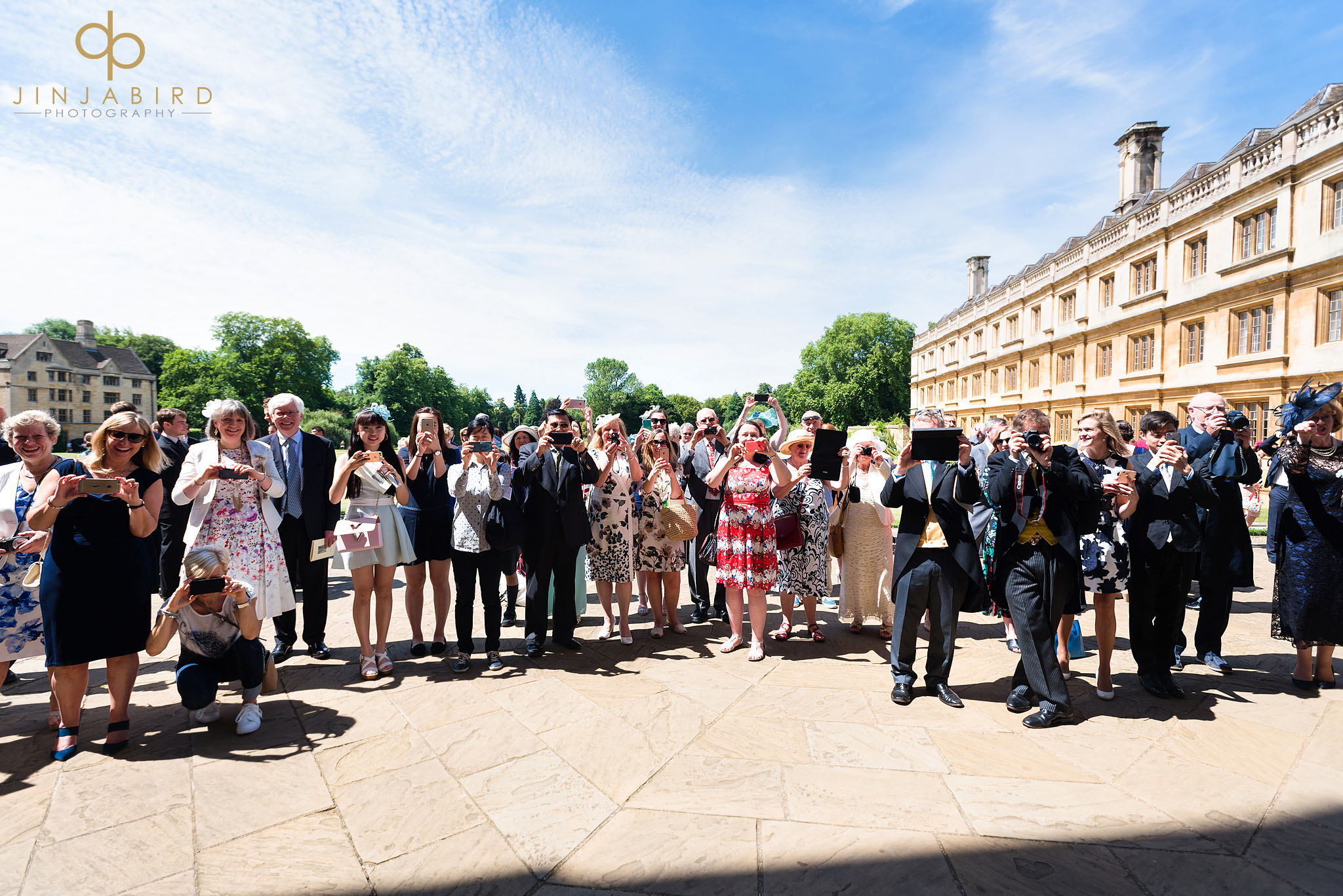 wedding guests kings college