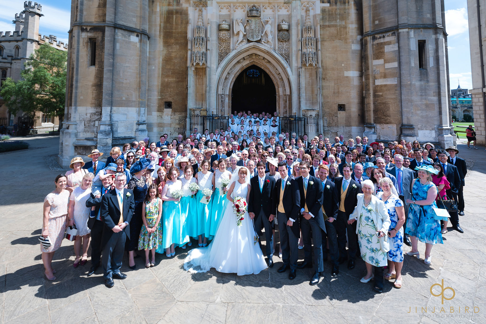 wedding photographer kings college chapel