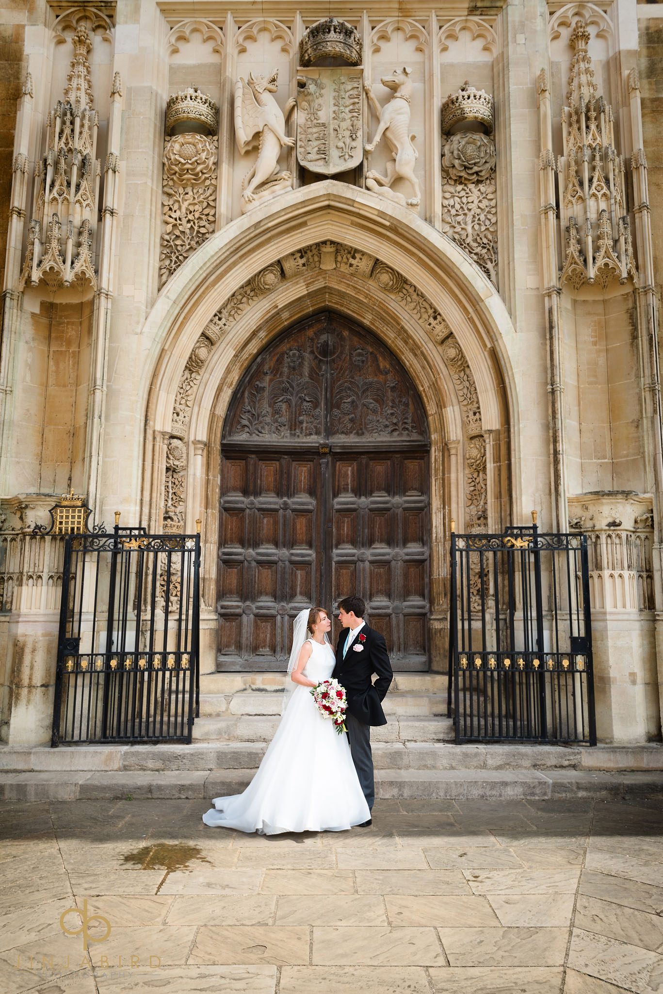 wedding photos kings college cambridge