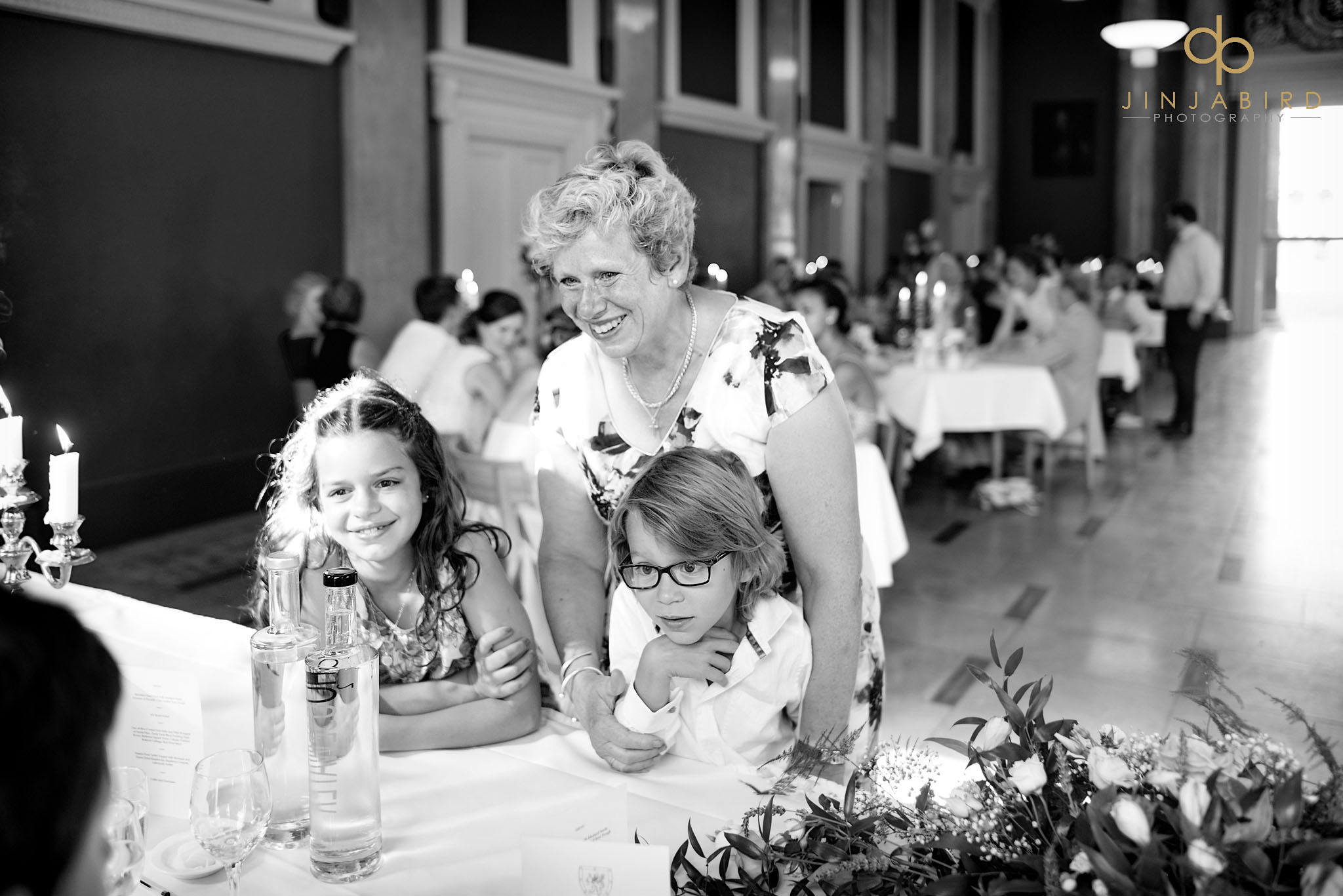 wedding reception downing college
