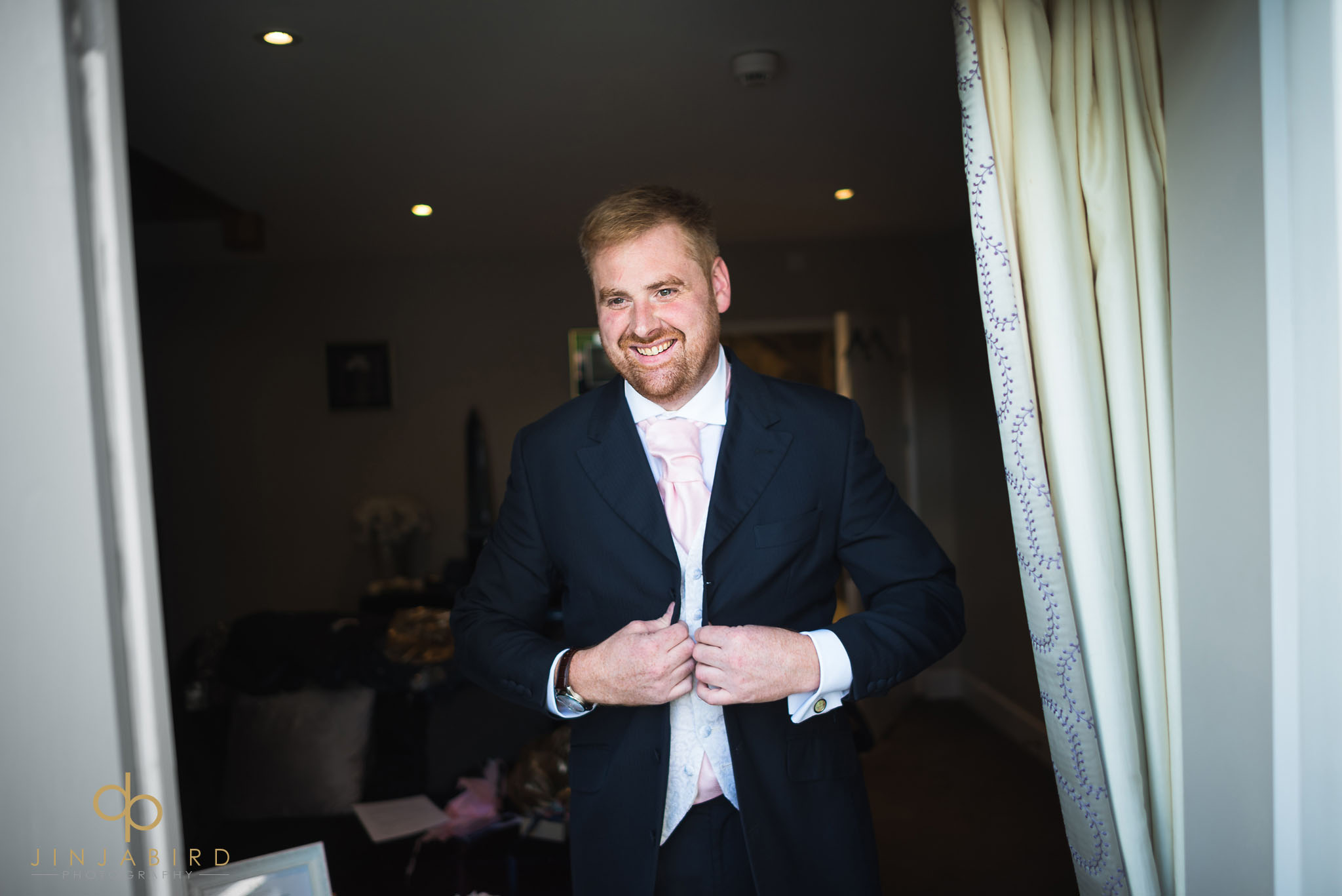 groom in dove cottage bassmead manor