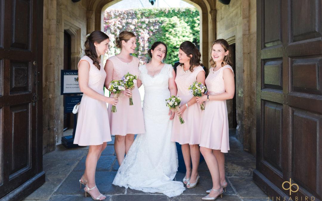 Wedding photographer Perch Inn Oxford