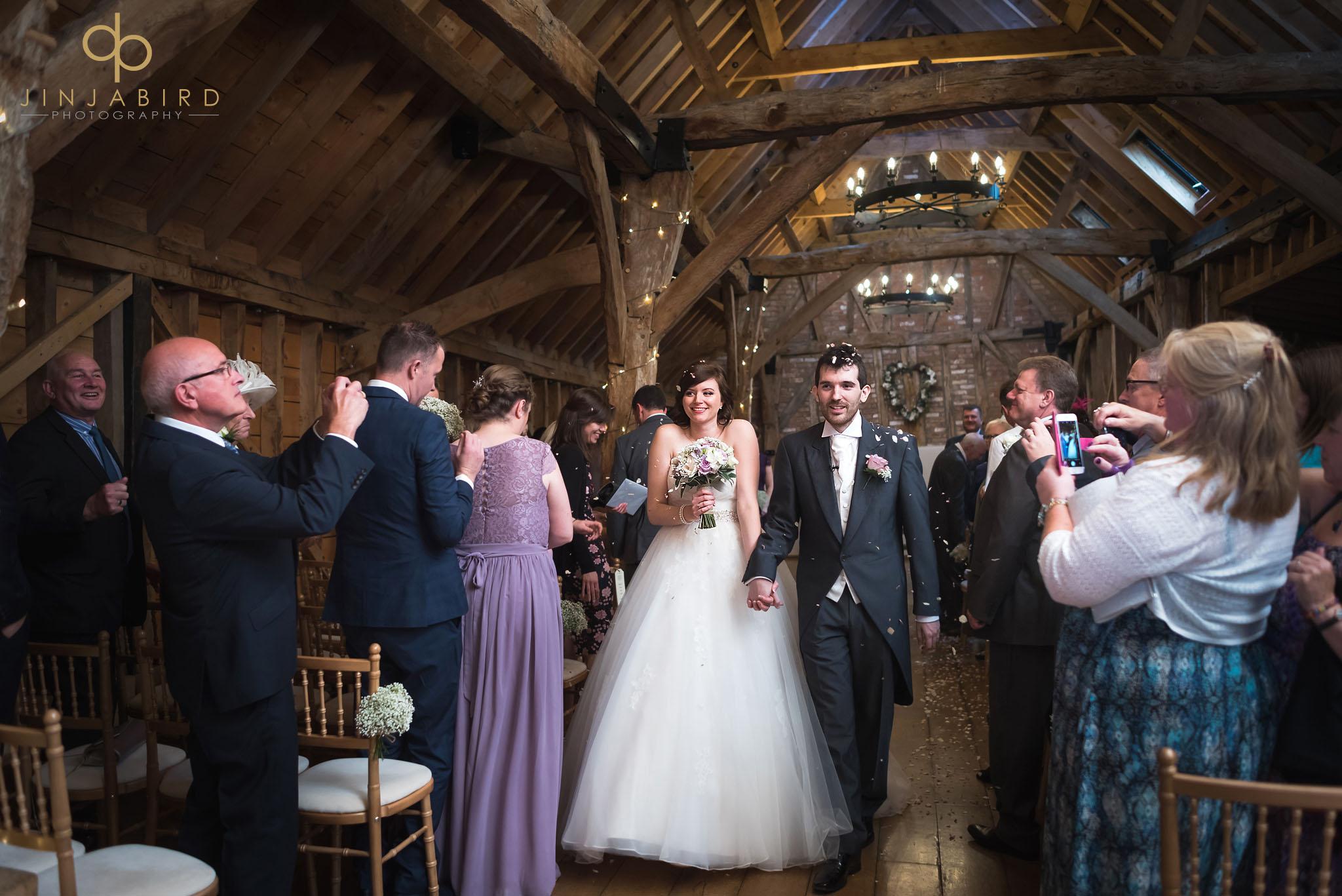 confetti in the rickety barn bassmead manor