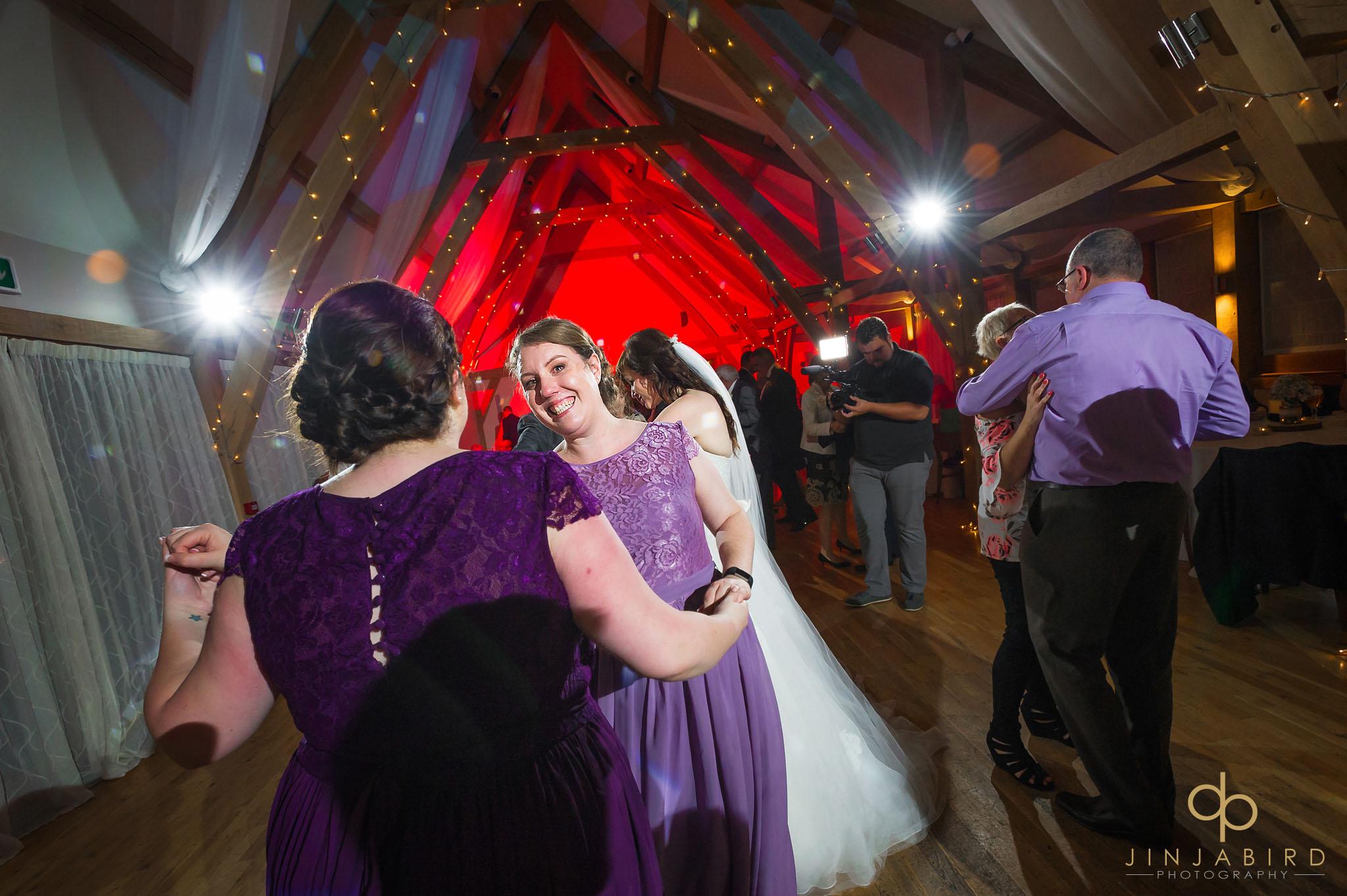 guests dancing at bassmead manor