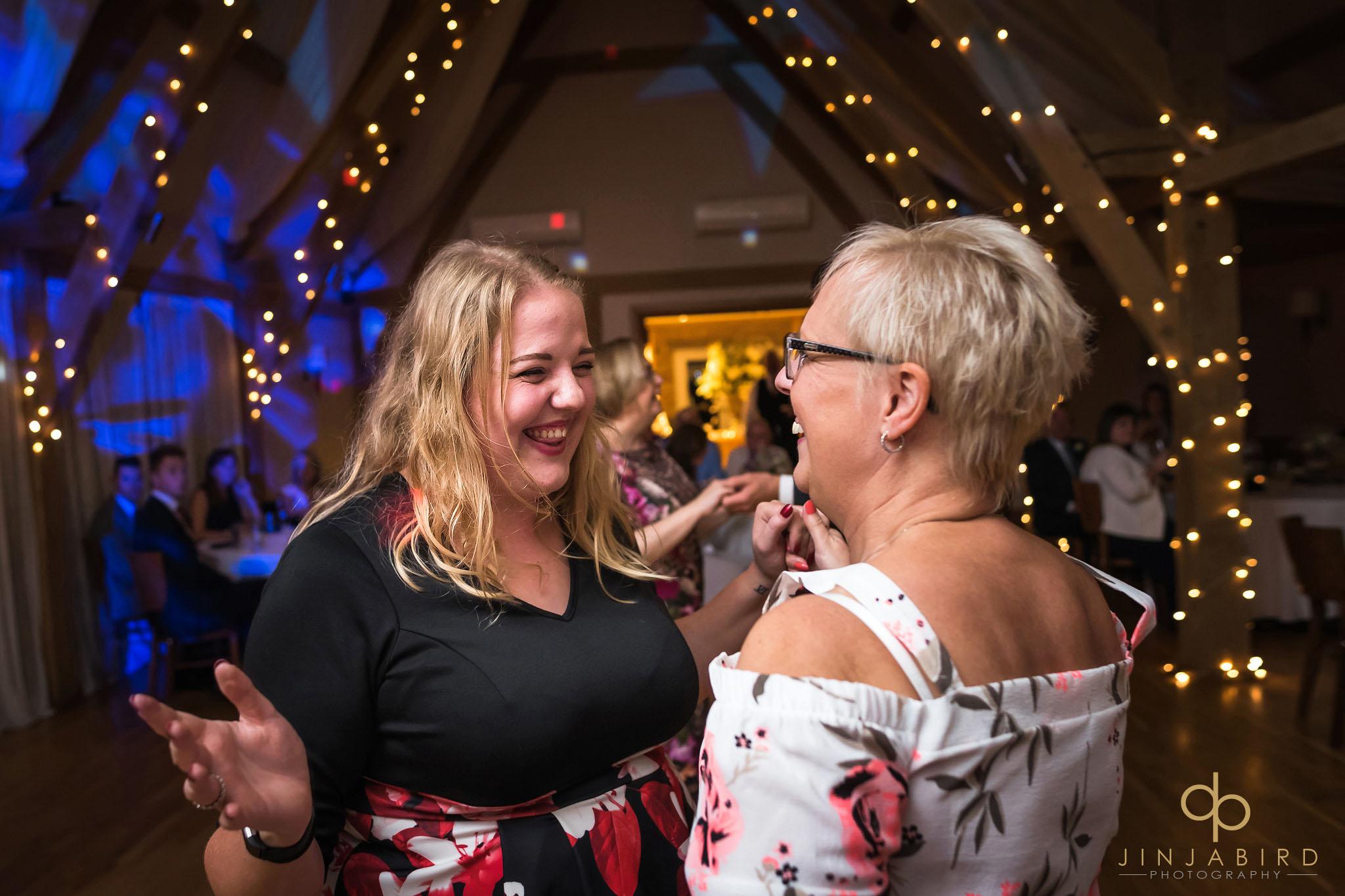 wedding reception new barn bassmead