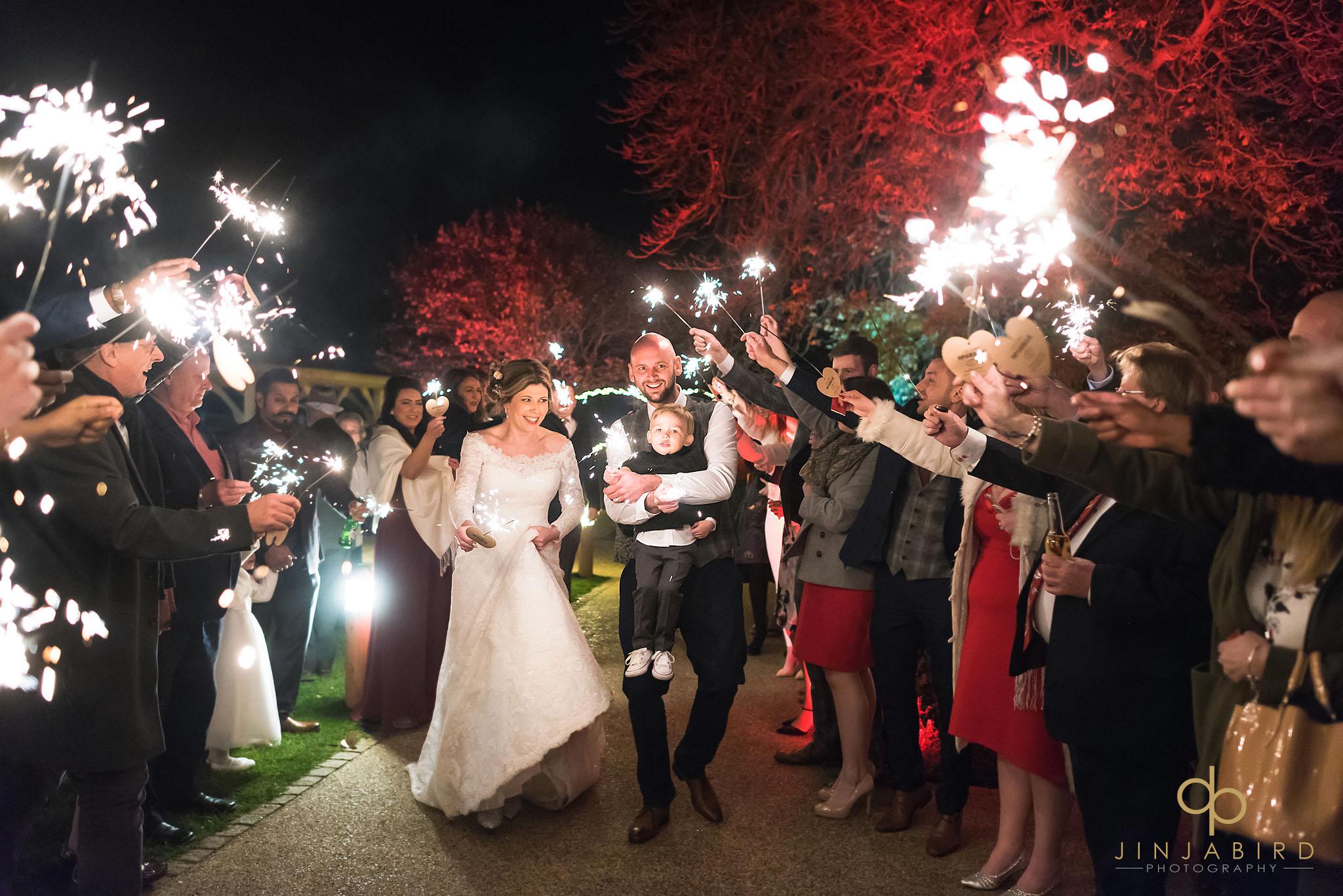 wedding sparklers bassmead manor