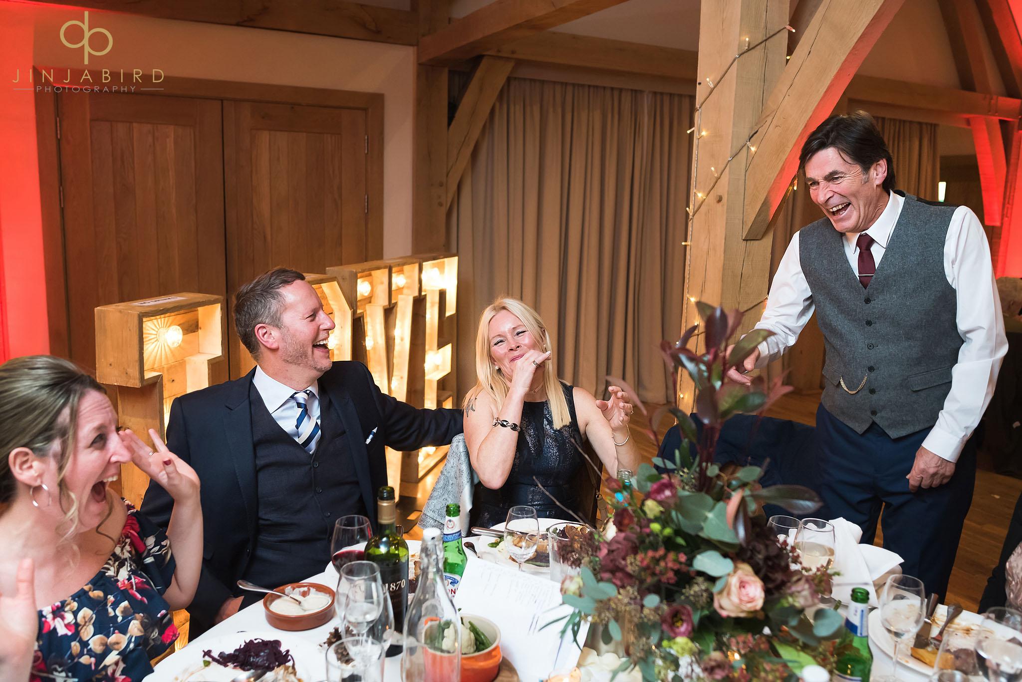 wedding reception bassmead manor