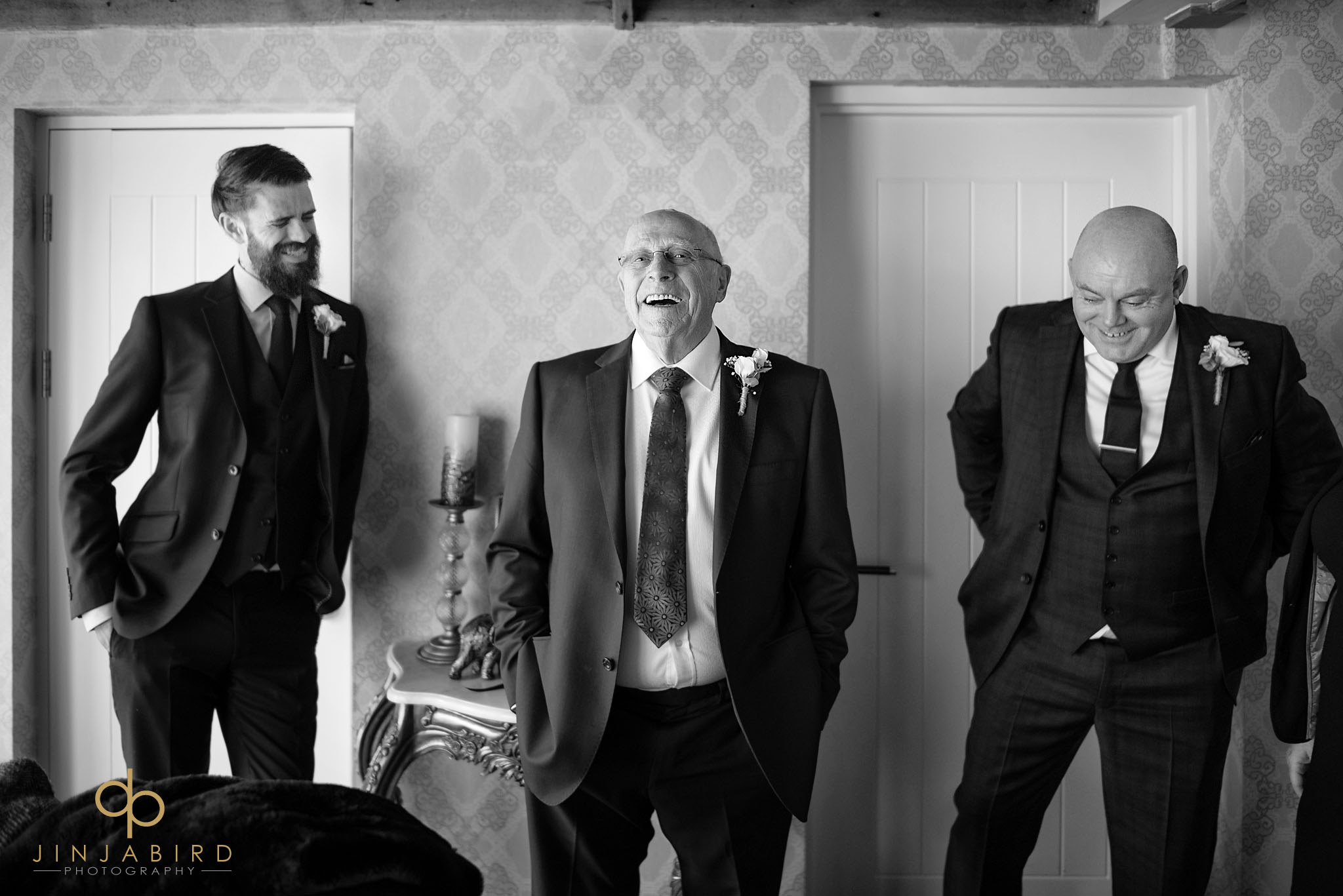 father of bride with dad