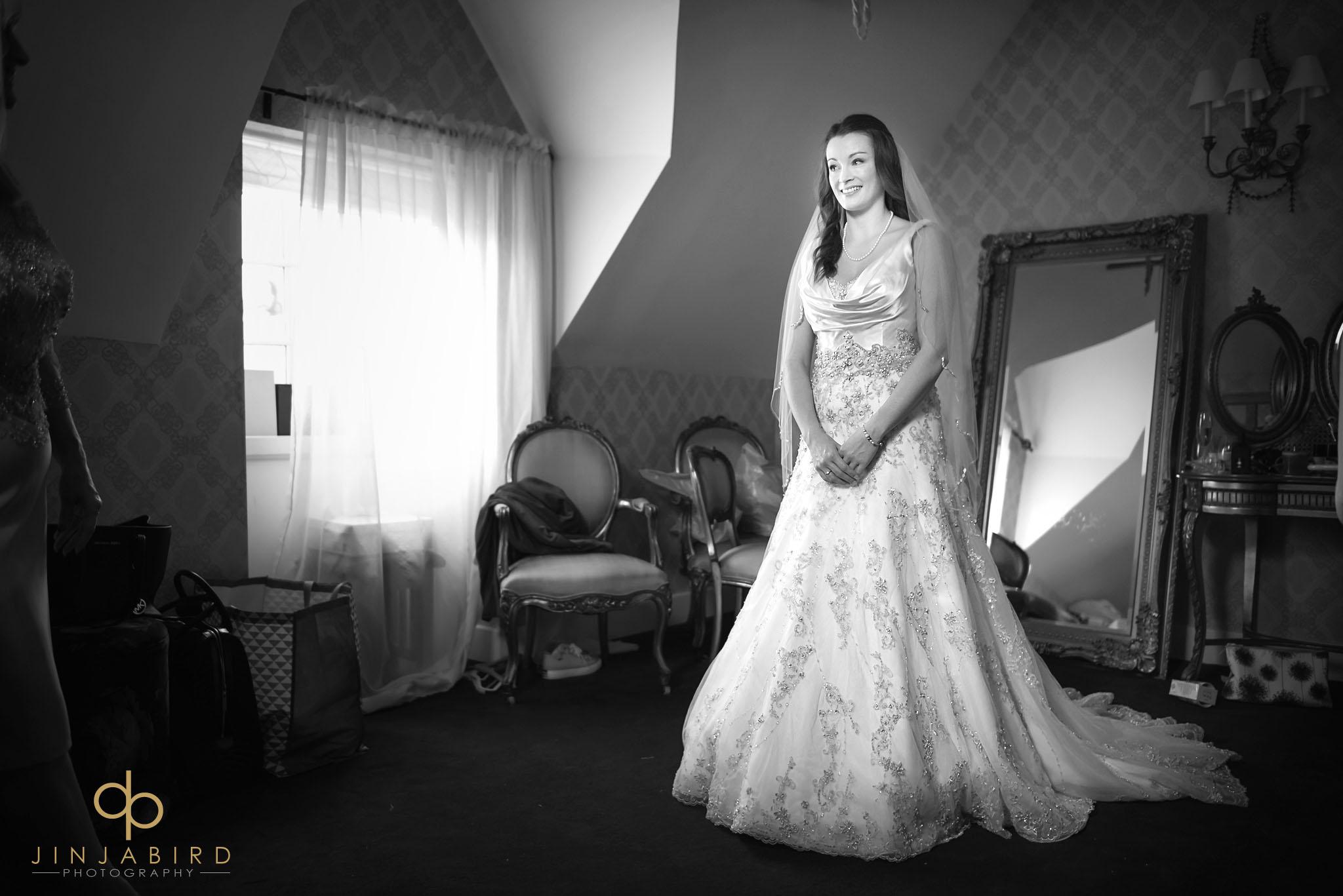 bride ready full length
