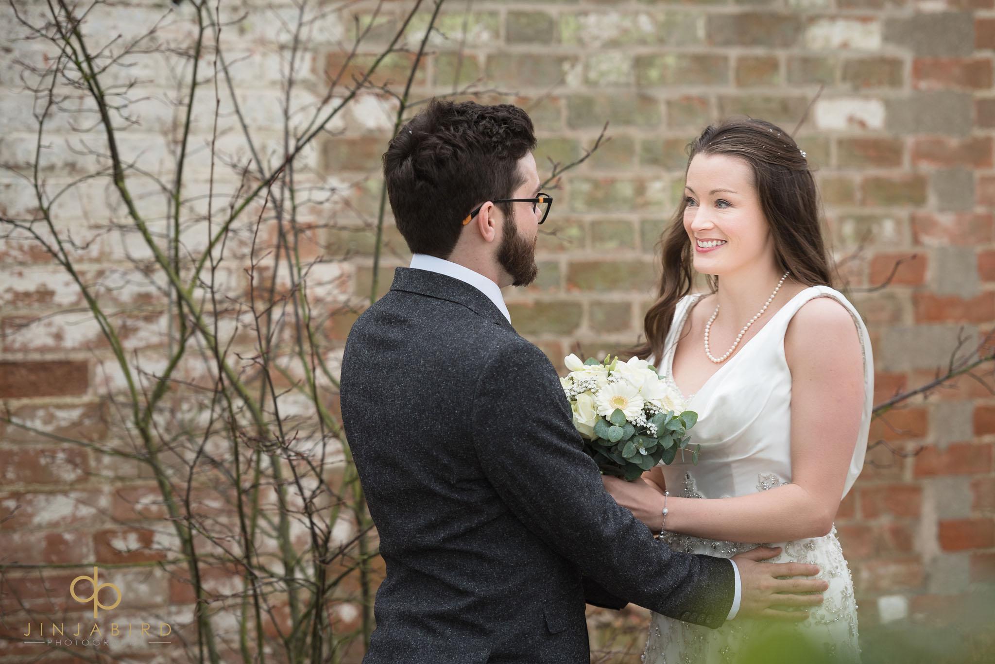 bride and groom bassmead