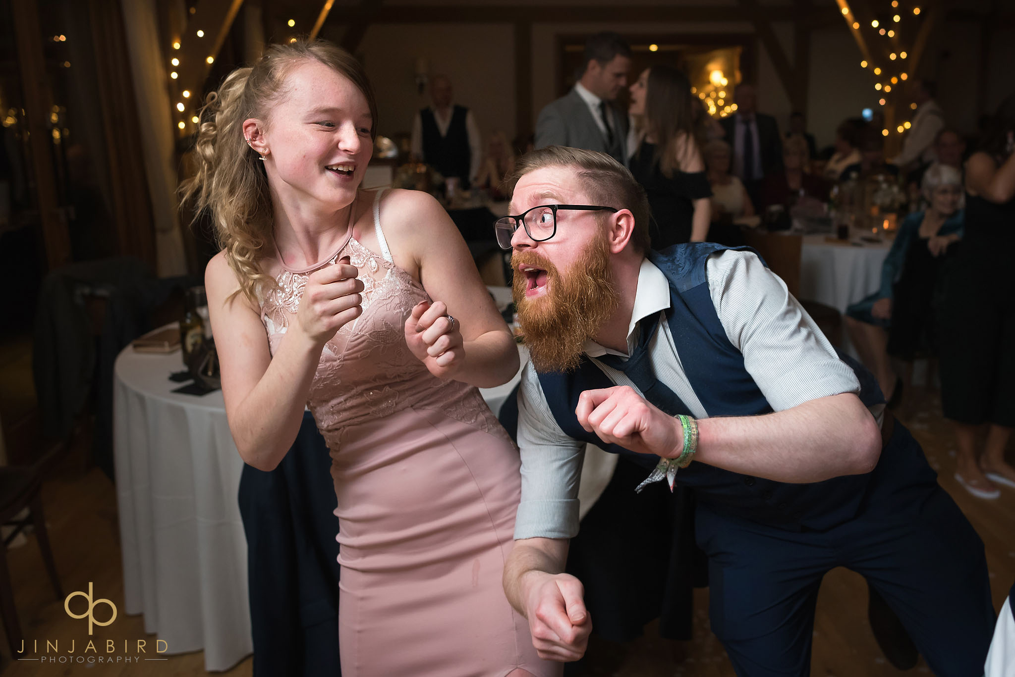 crazy wedding dancing