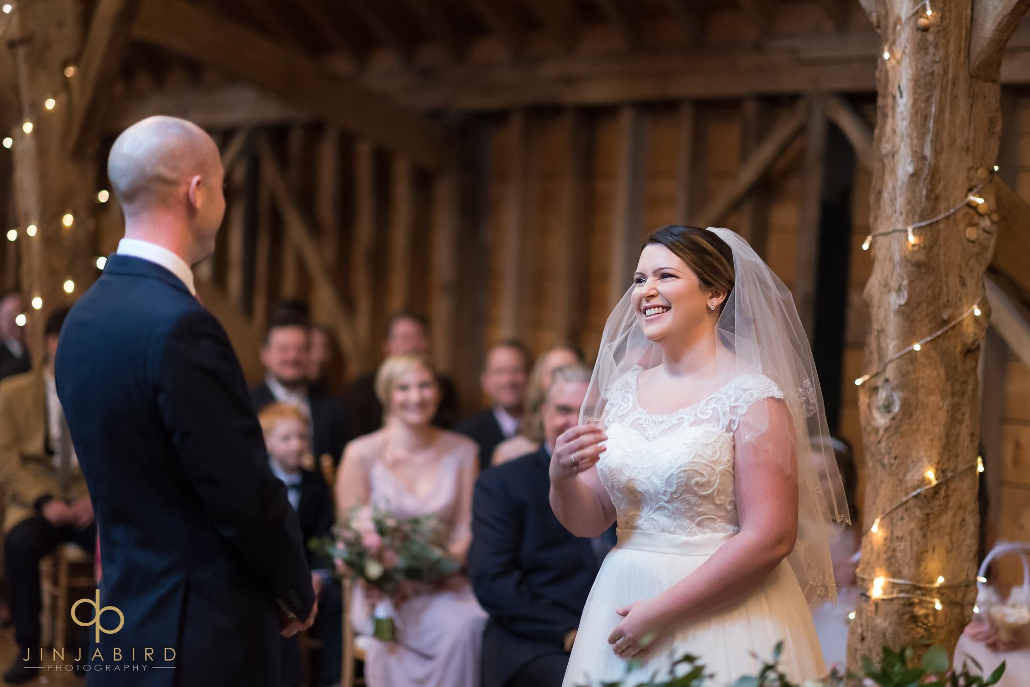 bride-getting-married-rickety-barn