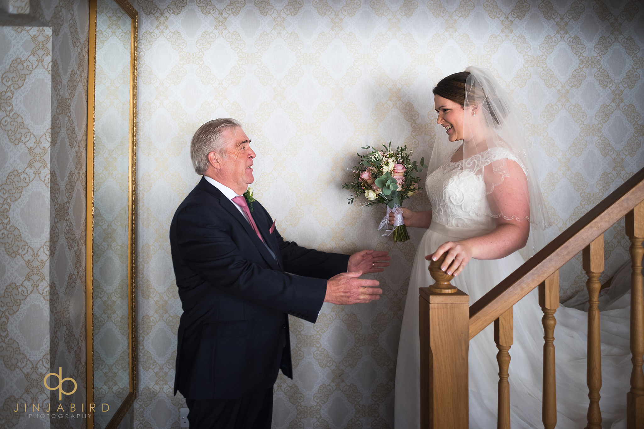 father-bride-first-look