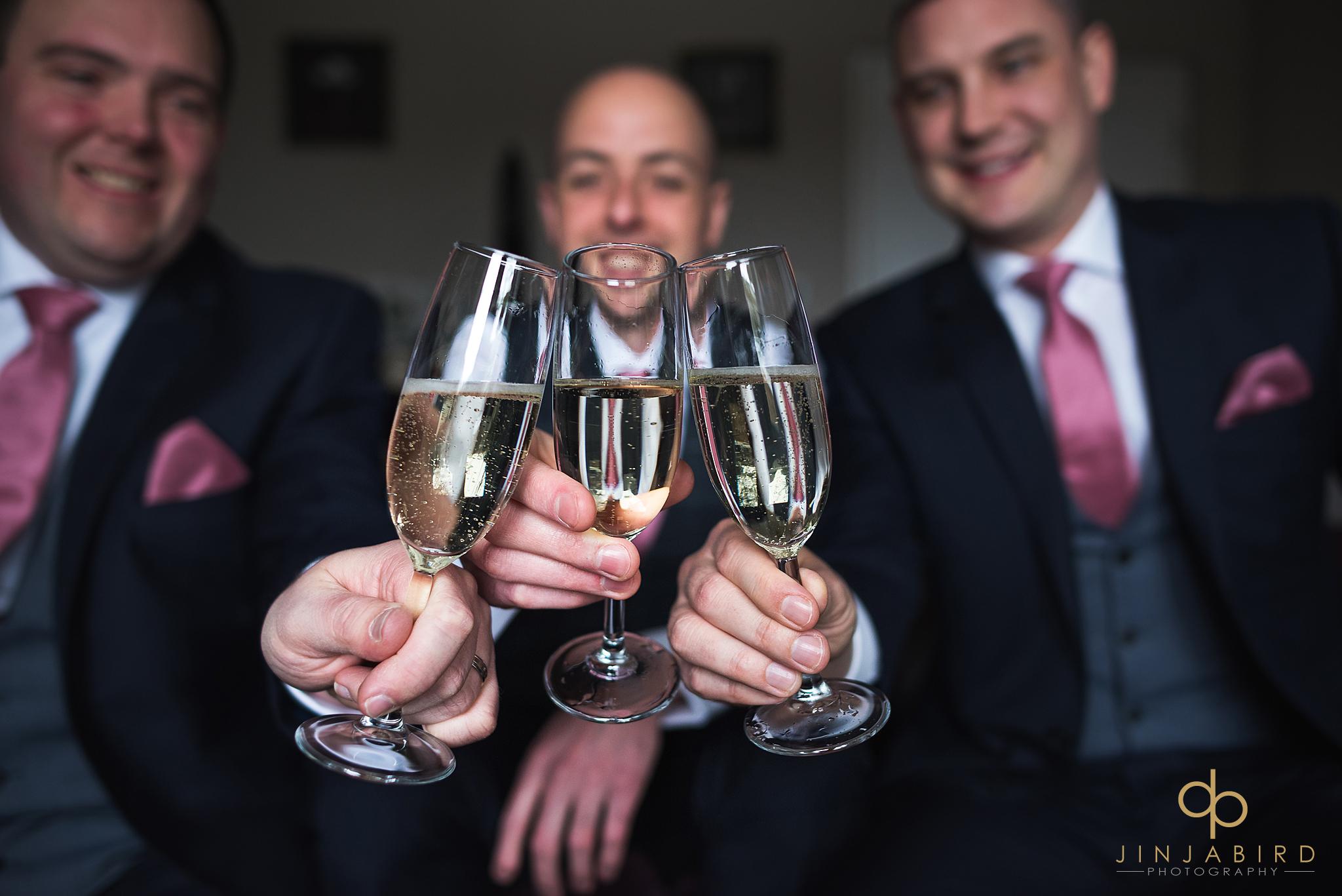 groom-toasting-with-ushers