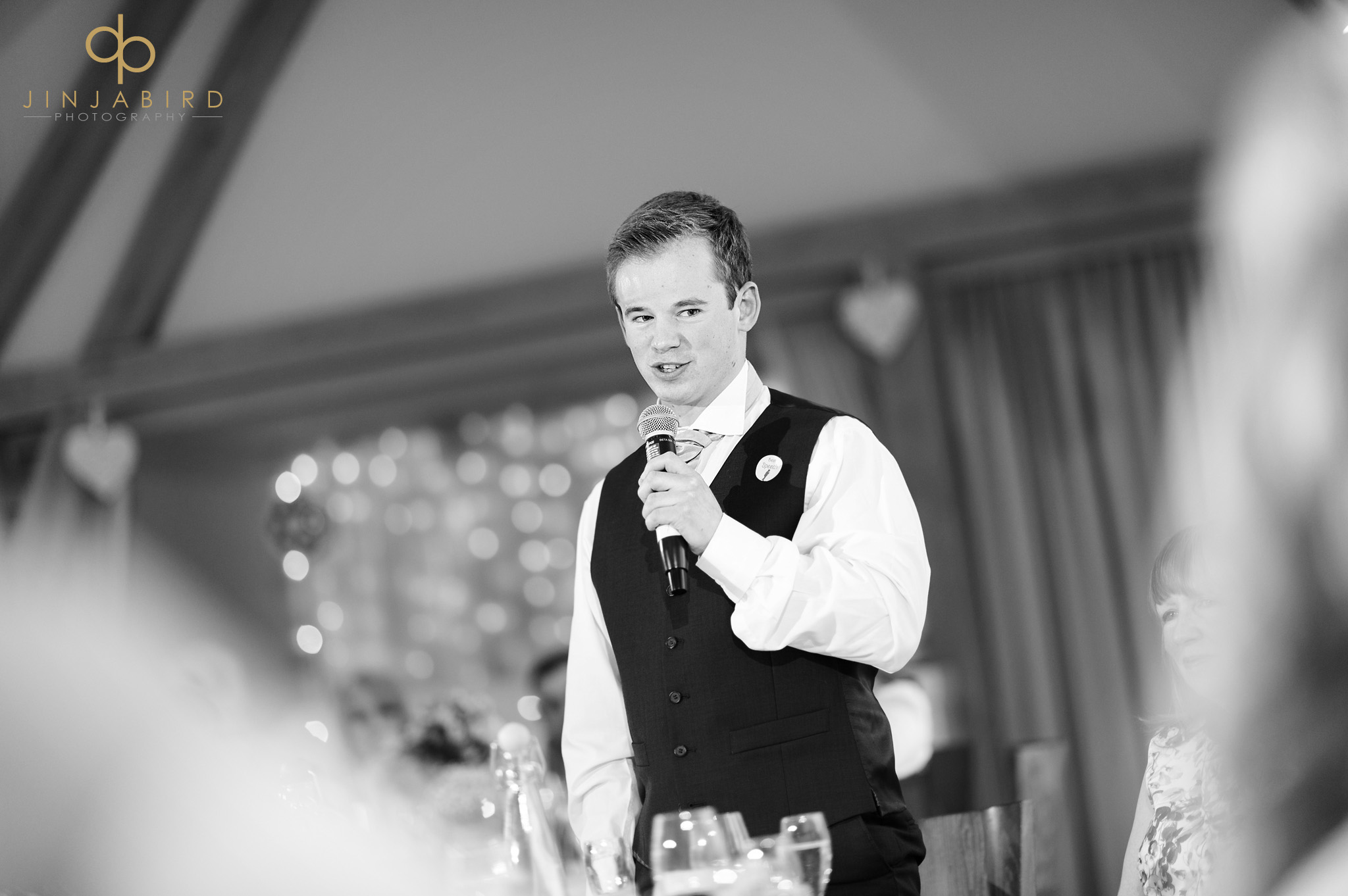 best man making speech