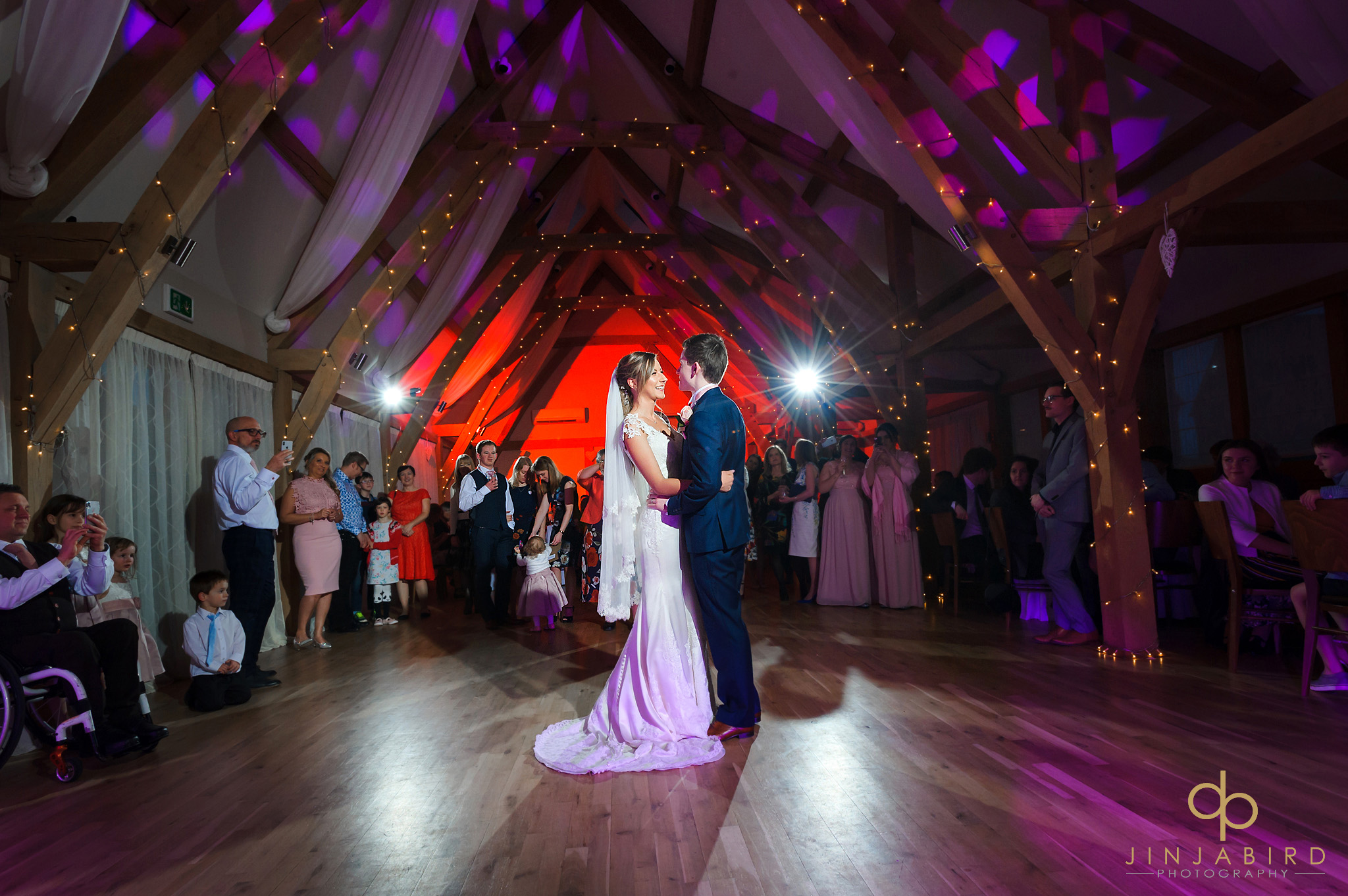 bride and groom first dance bassmead