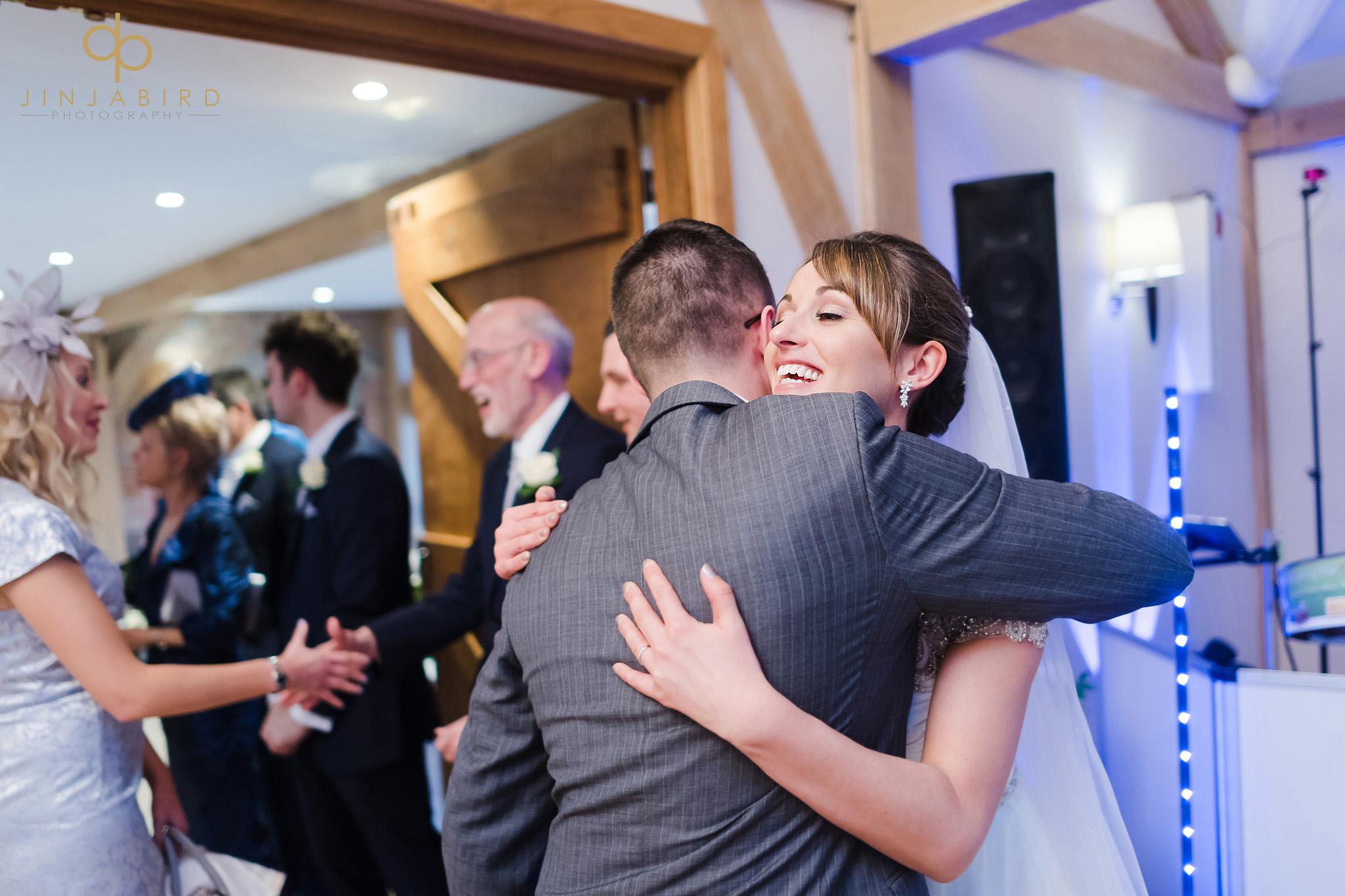 wedding receiving line bassmead manor